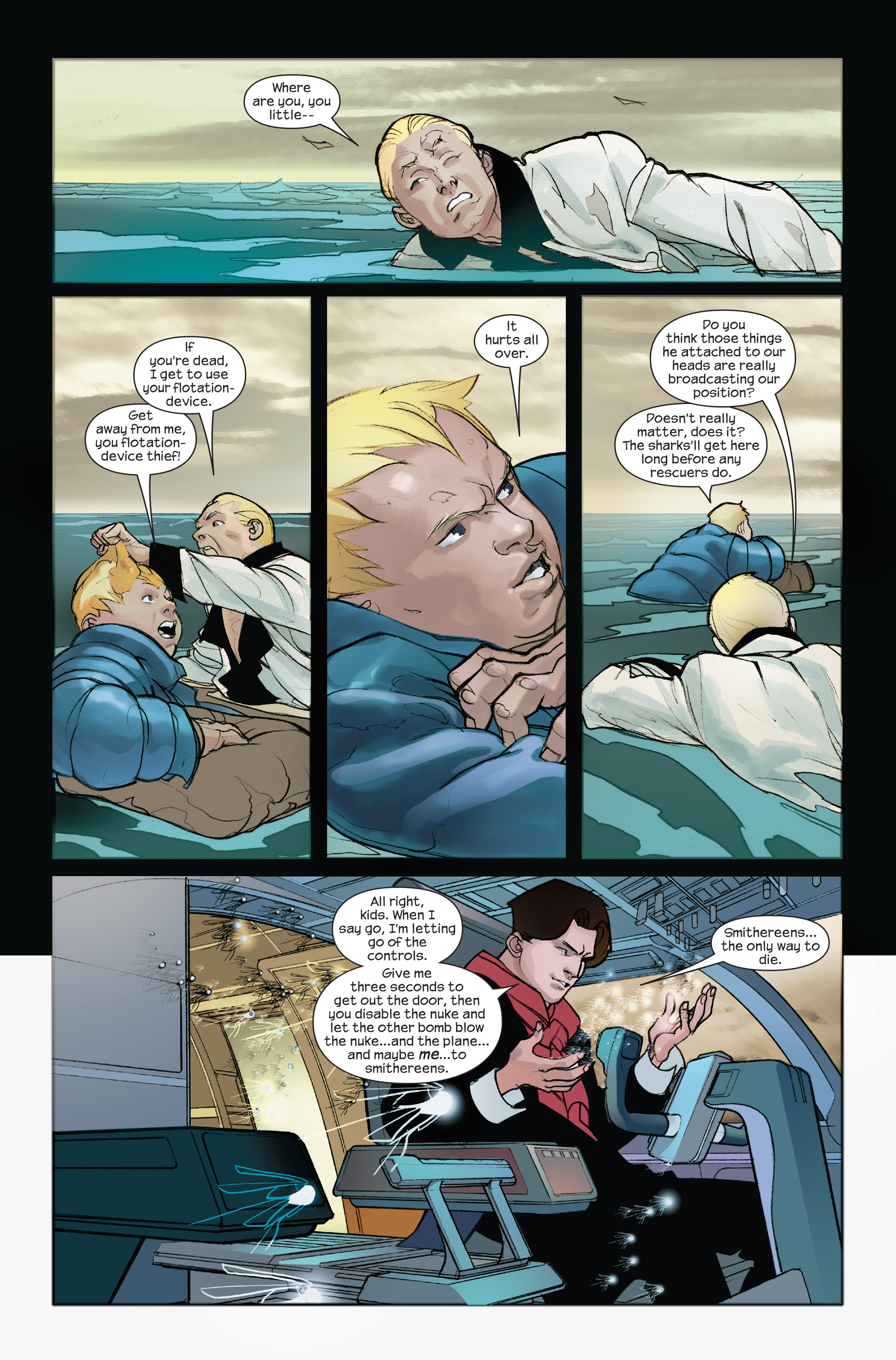 Read online Ultimate Iron Man II comic -  Issue #4 - 14