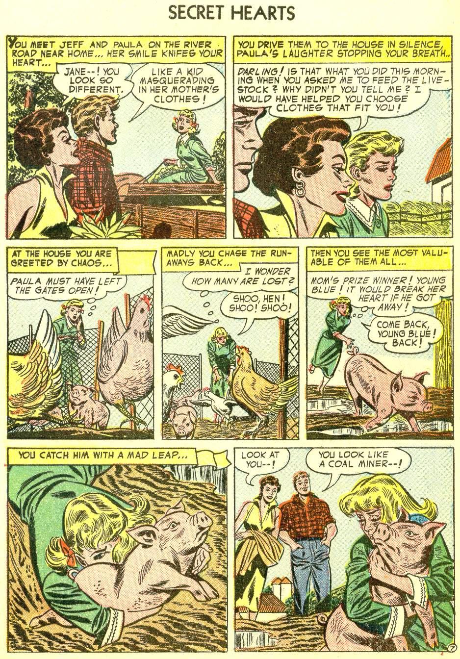 Read online Secret Hearts comic -  Issue #21 - 33