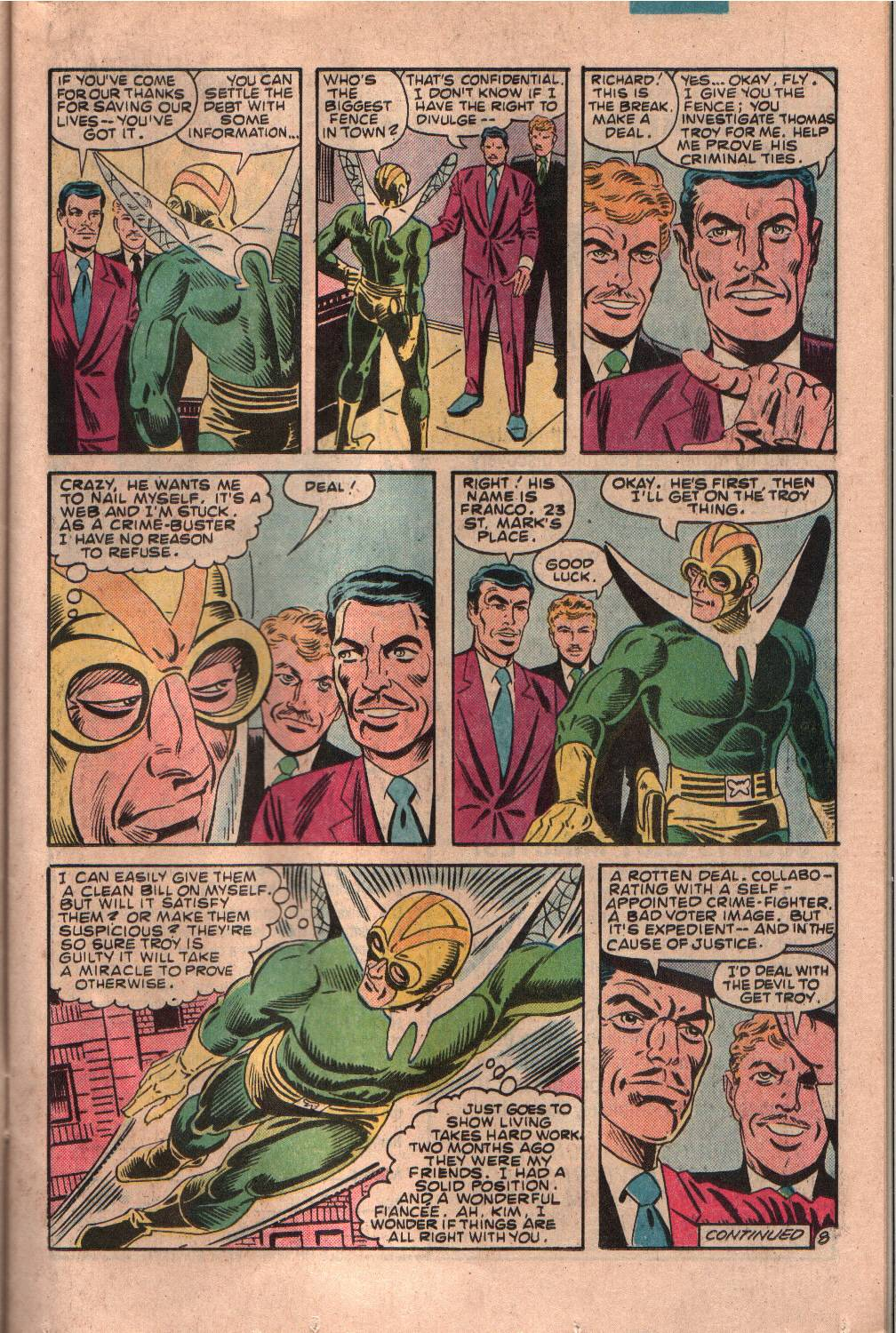 Read online The Fly (1983) comic -  Issue #7 - 9