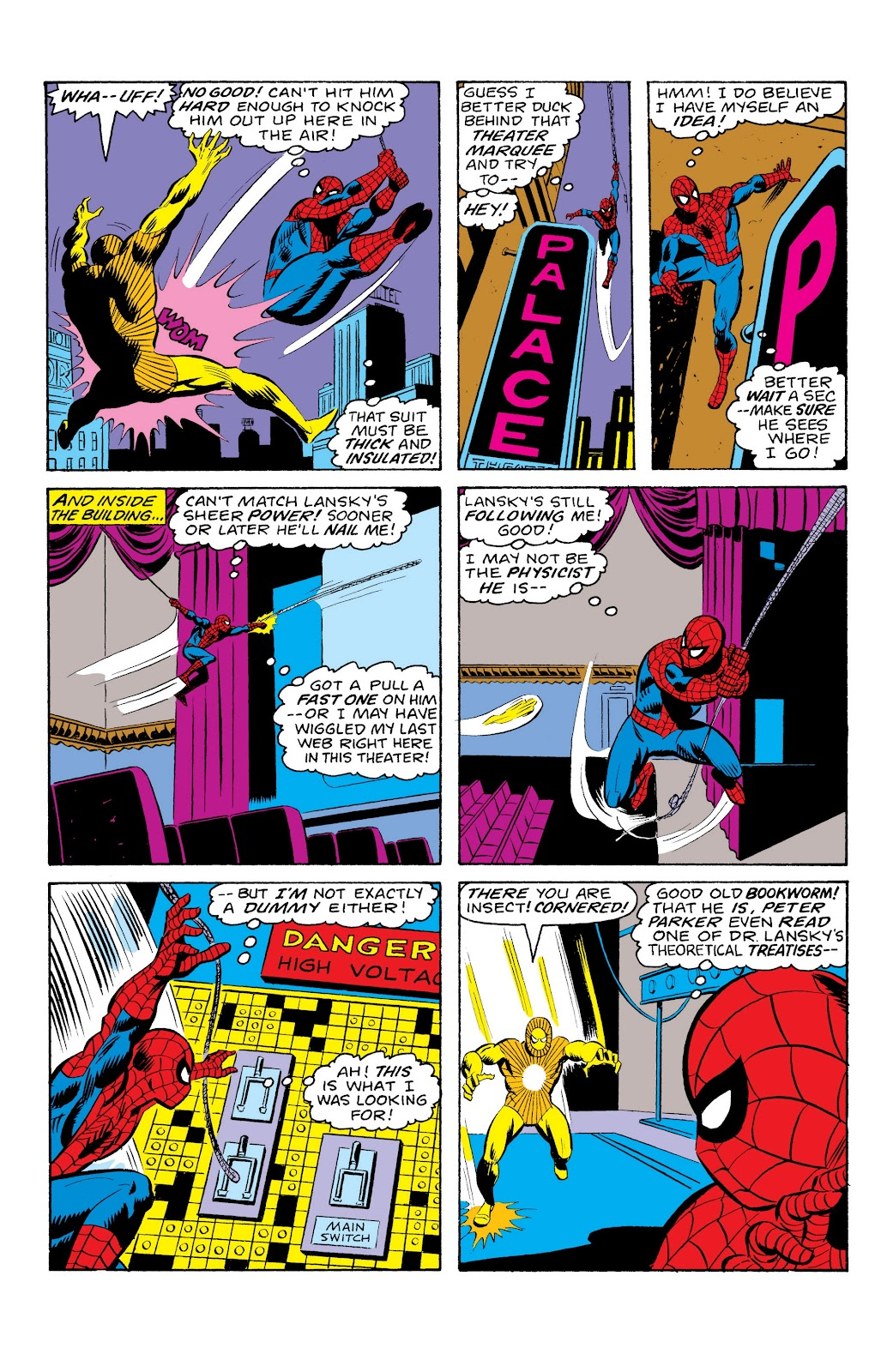 Read online Marvel Masterworks: The Spectacular Spider-Man comic -  Issue # TPB (Part 1) - 60