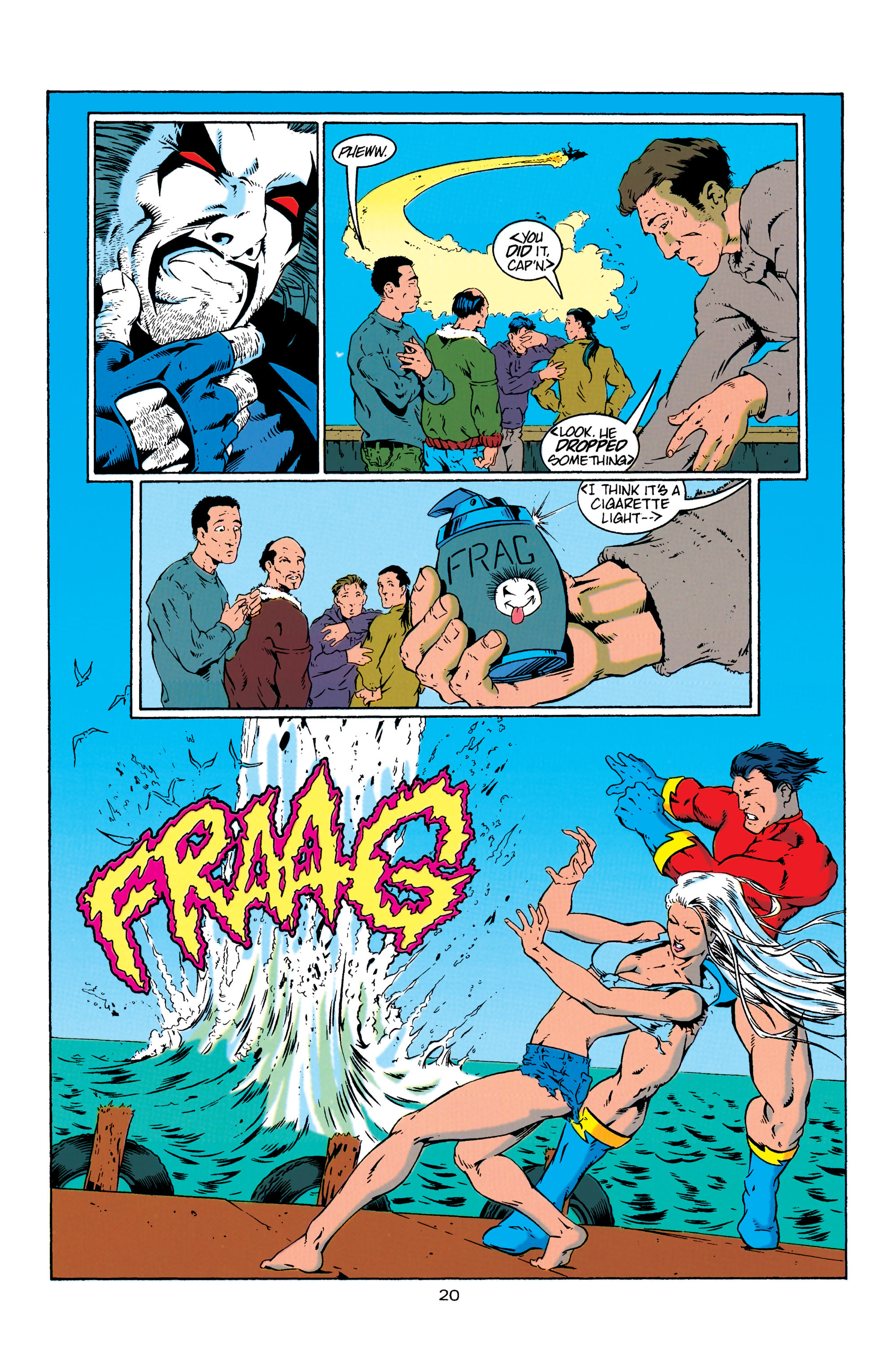 Read online Aquaman (1994) comic -  Issue #4 - 21