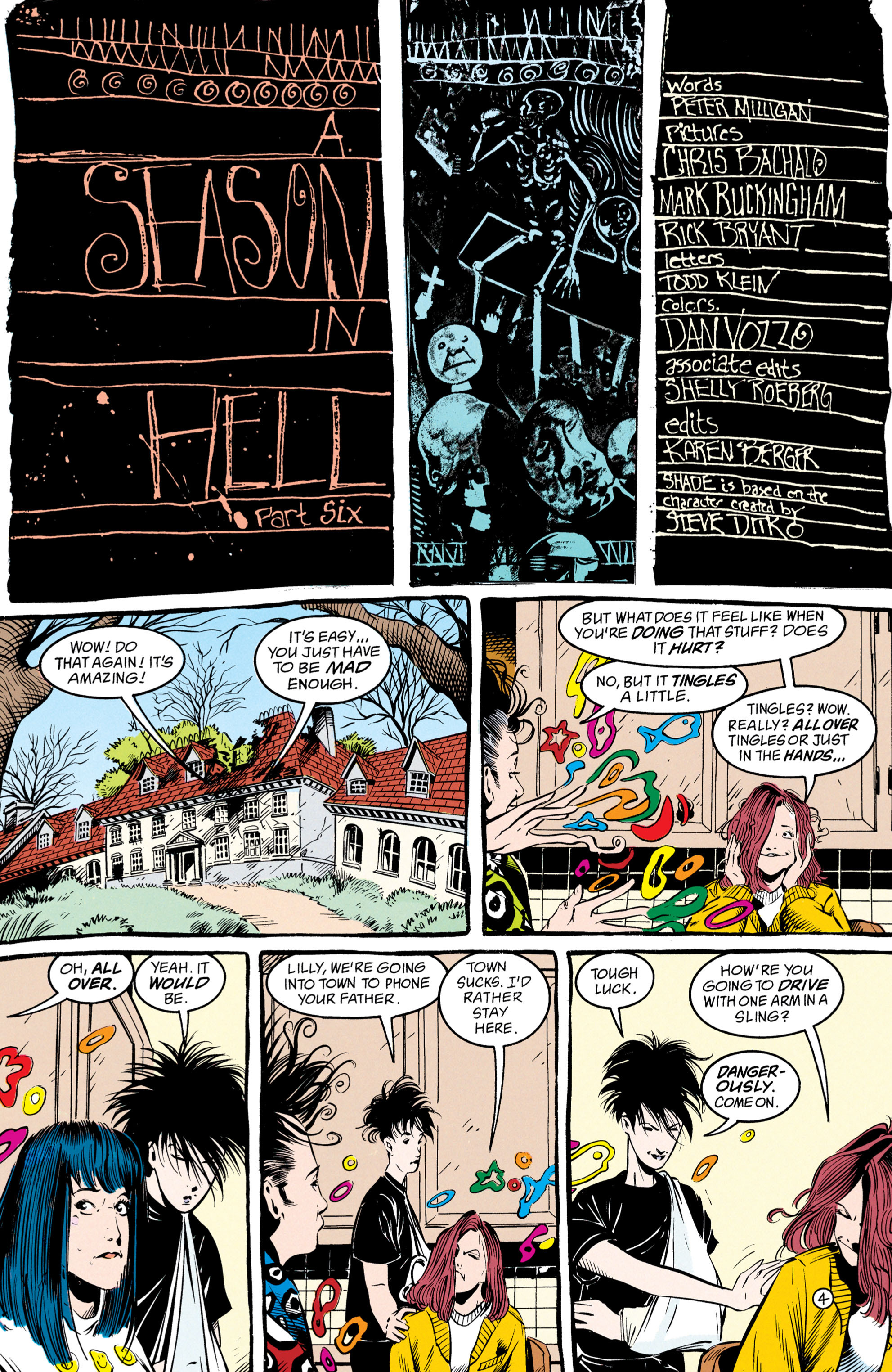 Read online Shade, the Changing Man comic -  Issue #50 - 5