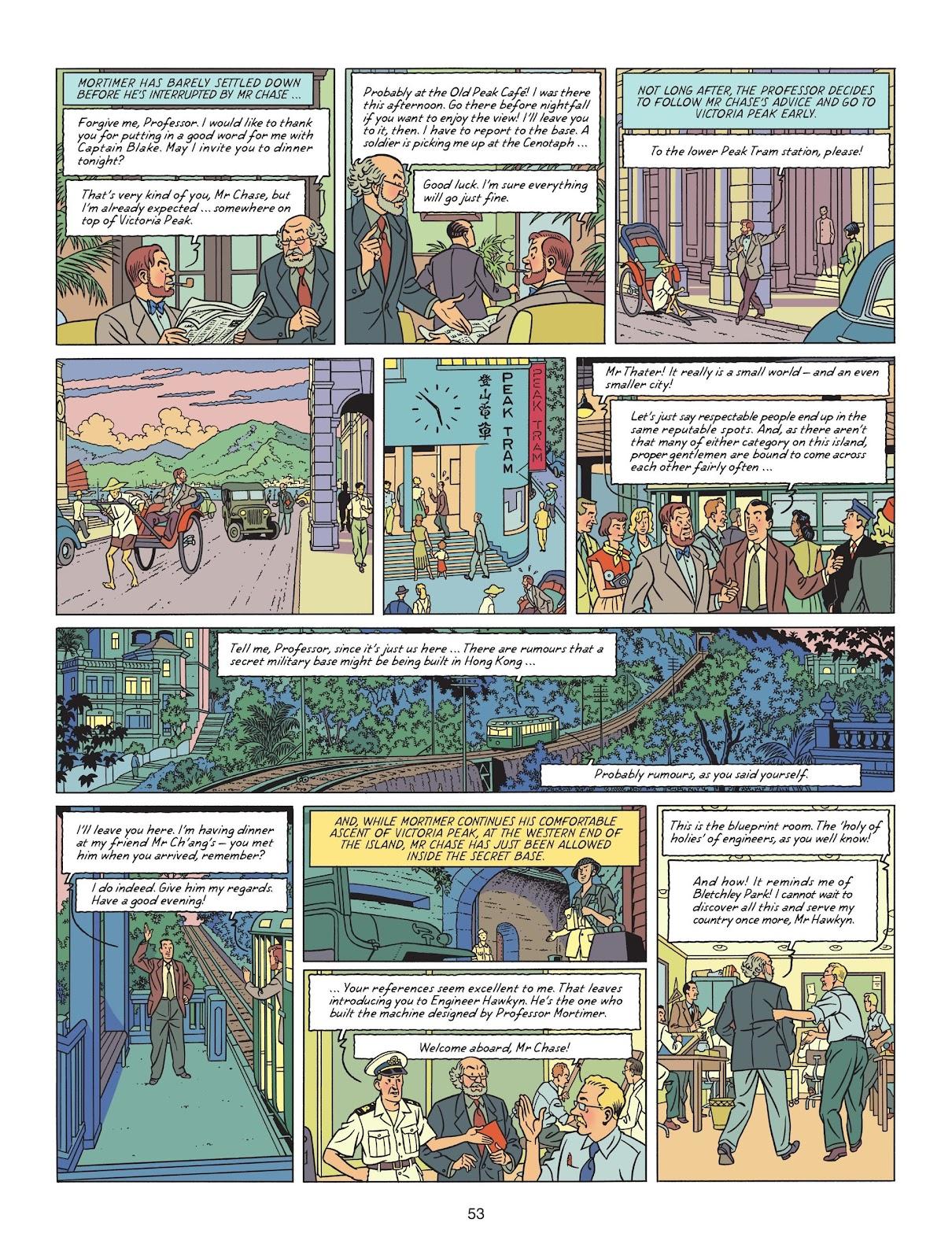 Read online Blake & Mortimer comic -  Issue #25 - 55