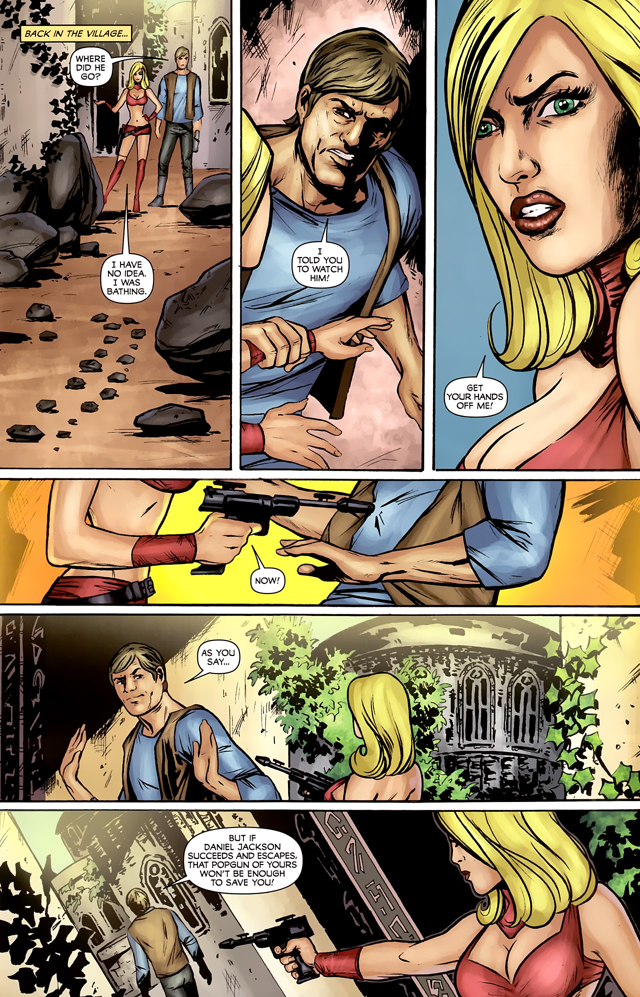 Read online Stargate: Daniel Jackson comic -  Issue #2 - 17