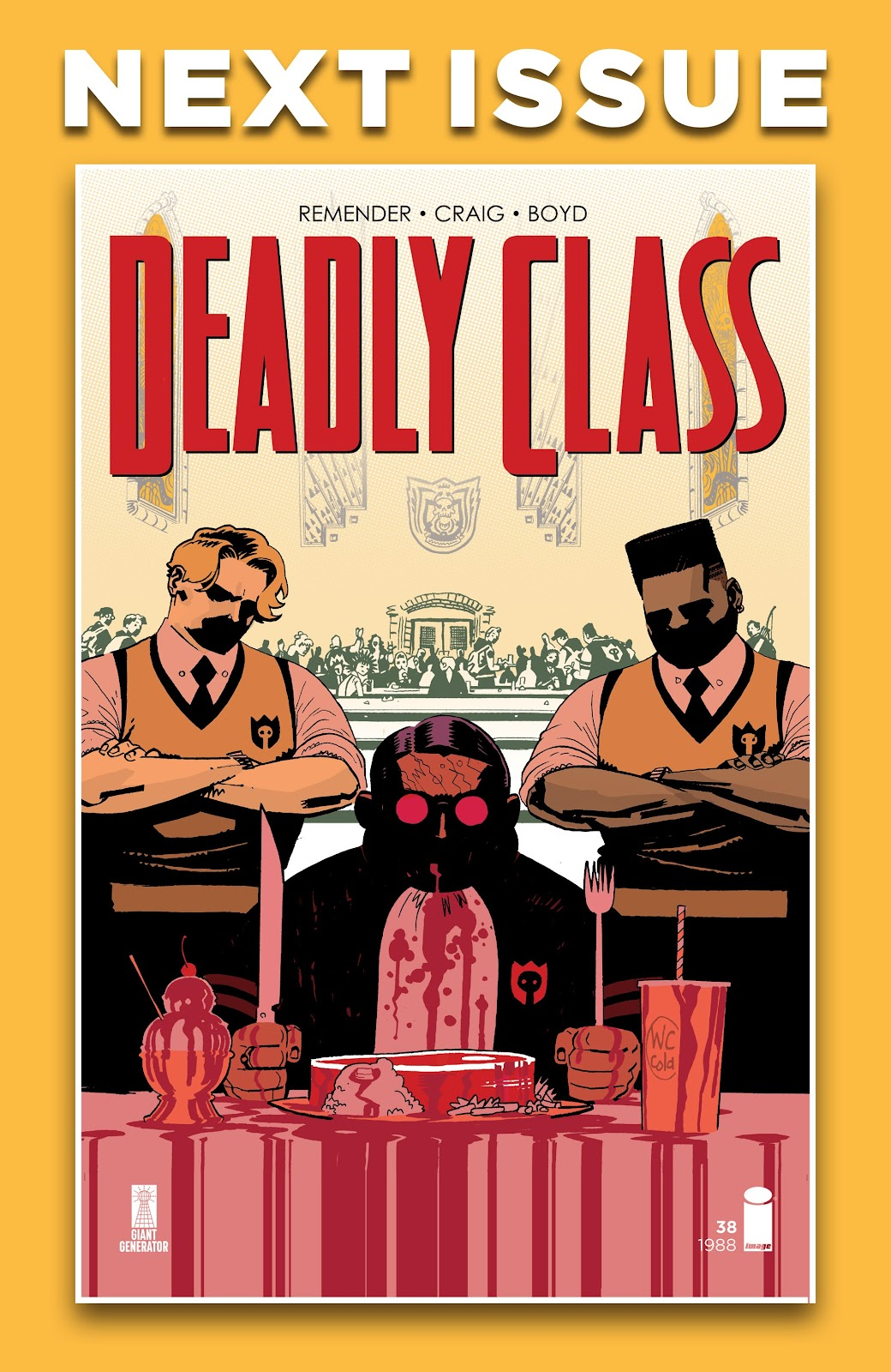 Read online Deadly Class comic -  Issue #37 - 27