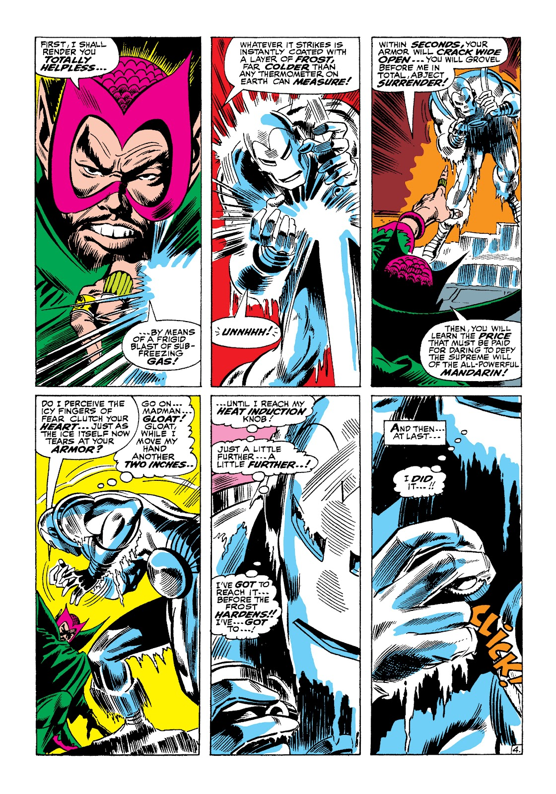 Read online Marvel Masterworks: The Invincible Iron Man comic -  Issue # TPB 4 (Part 1) - 36