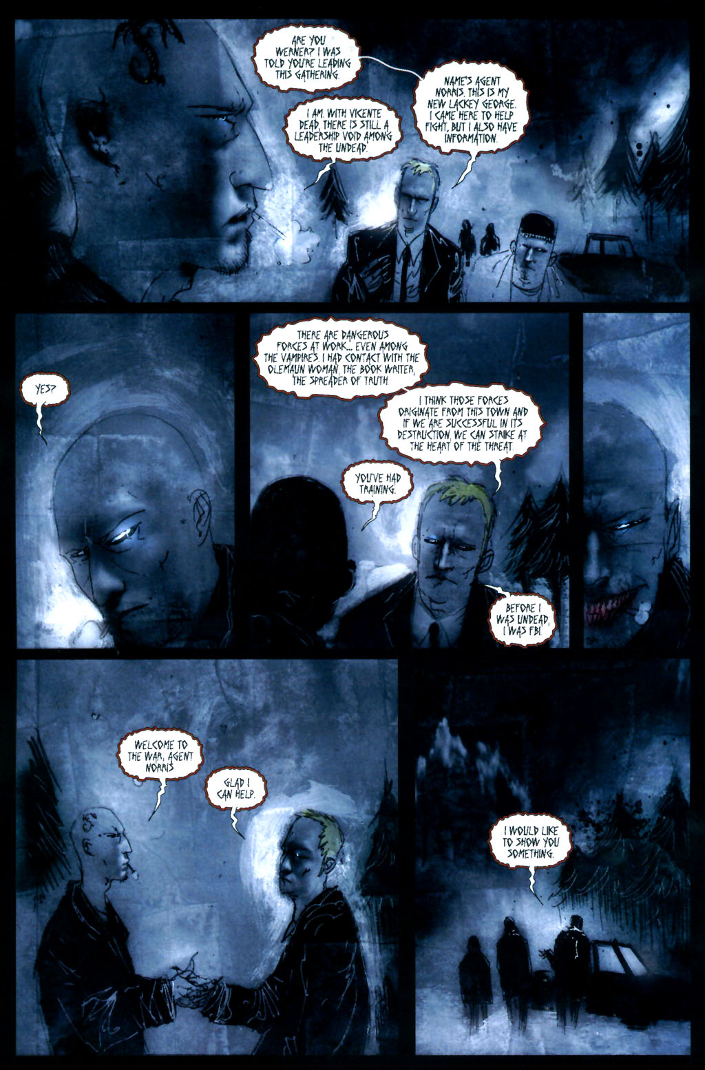 Read online 30 Days of Night: Return to Barrow comic -  Issue #4 - 5