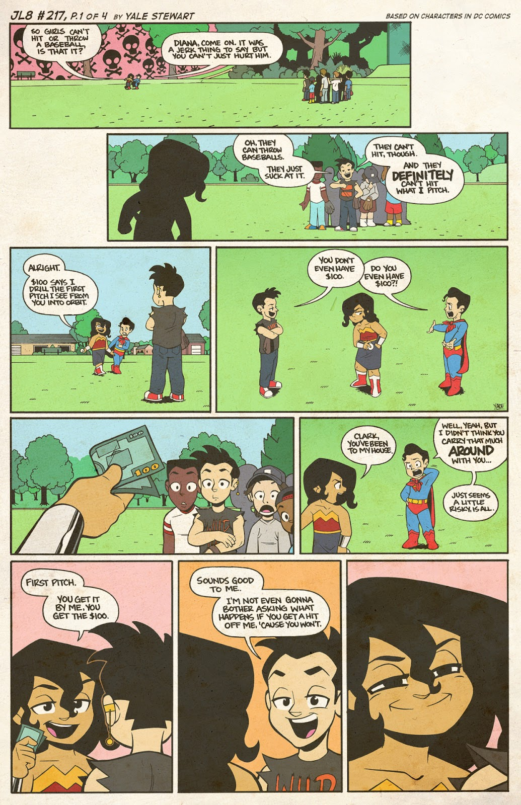 Read online JL8 – The Complete Collection comic -  Issue # TPB (Part 2) - 42