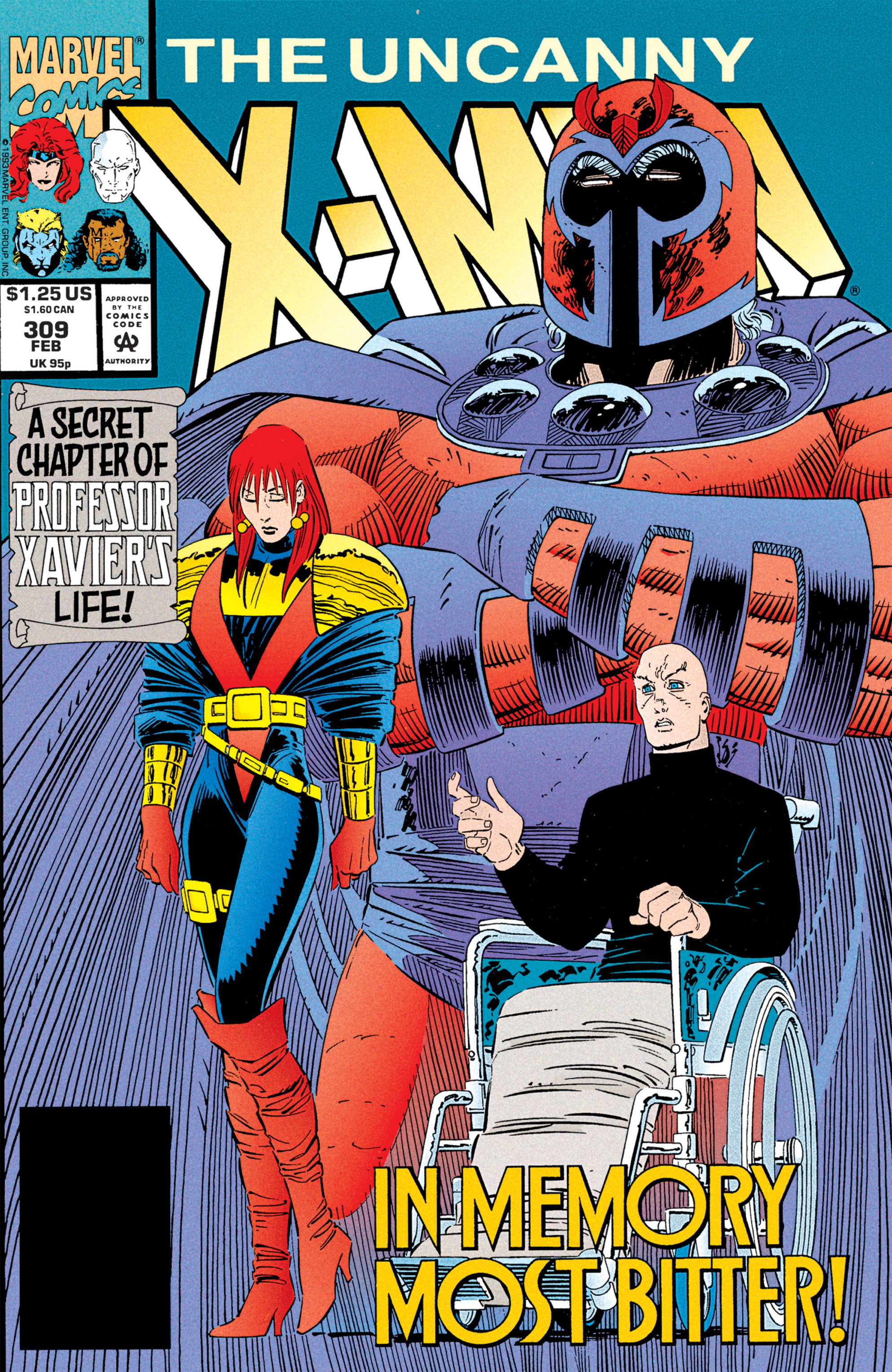 Uncanny X-Men (1963) 309 Page 1