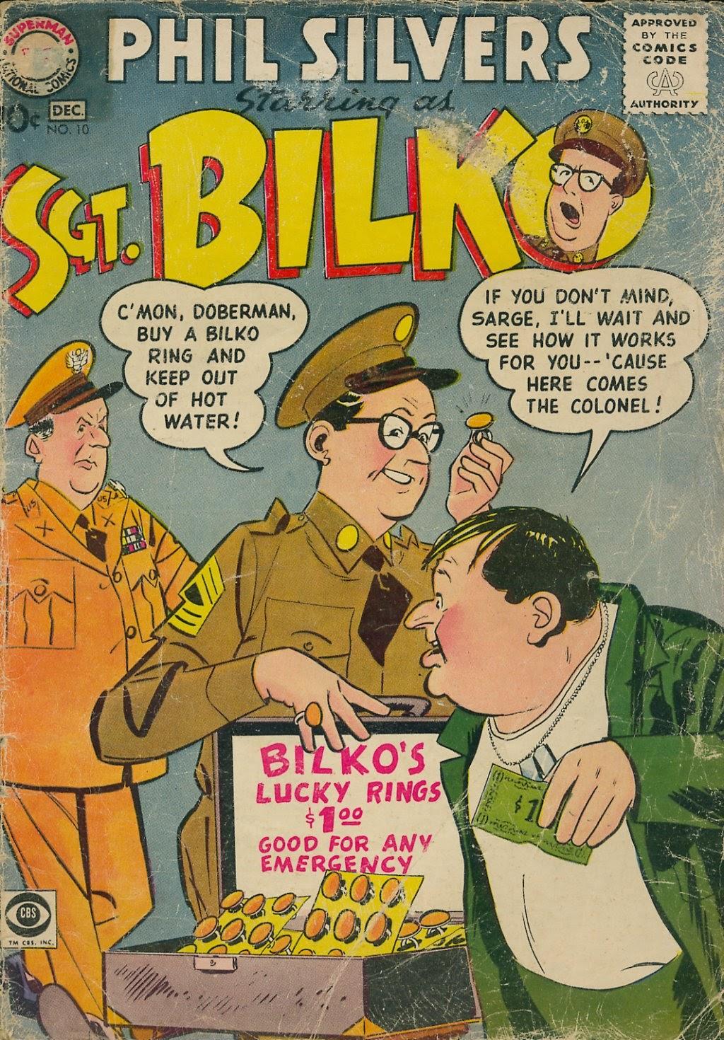 Sergeant Bilko issue 10 - Page 1