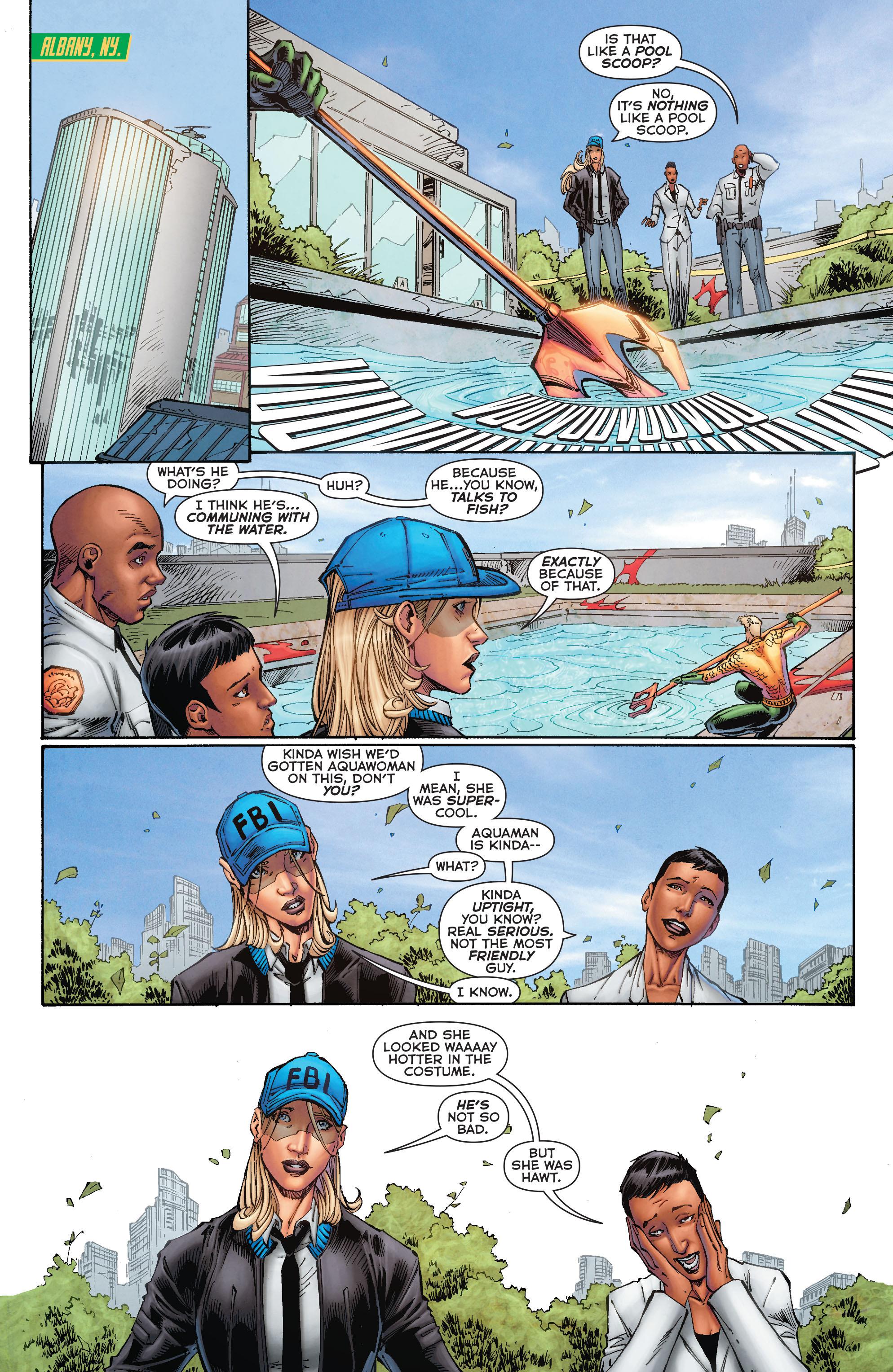 Read online Aquaman (2011) comic -  Issue #50 - 16
