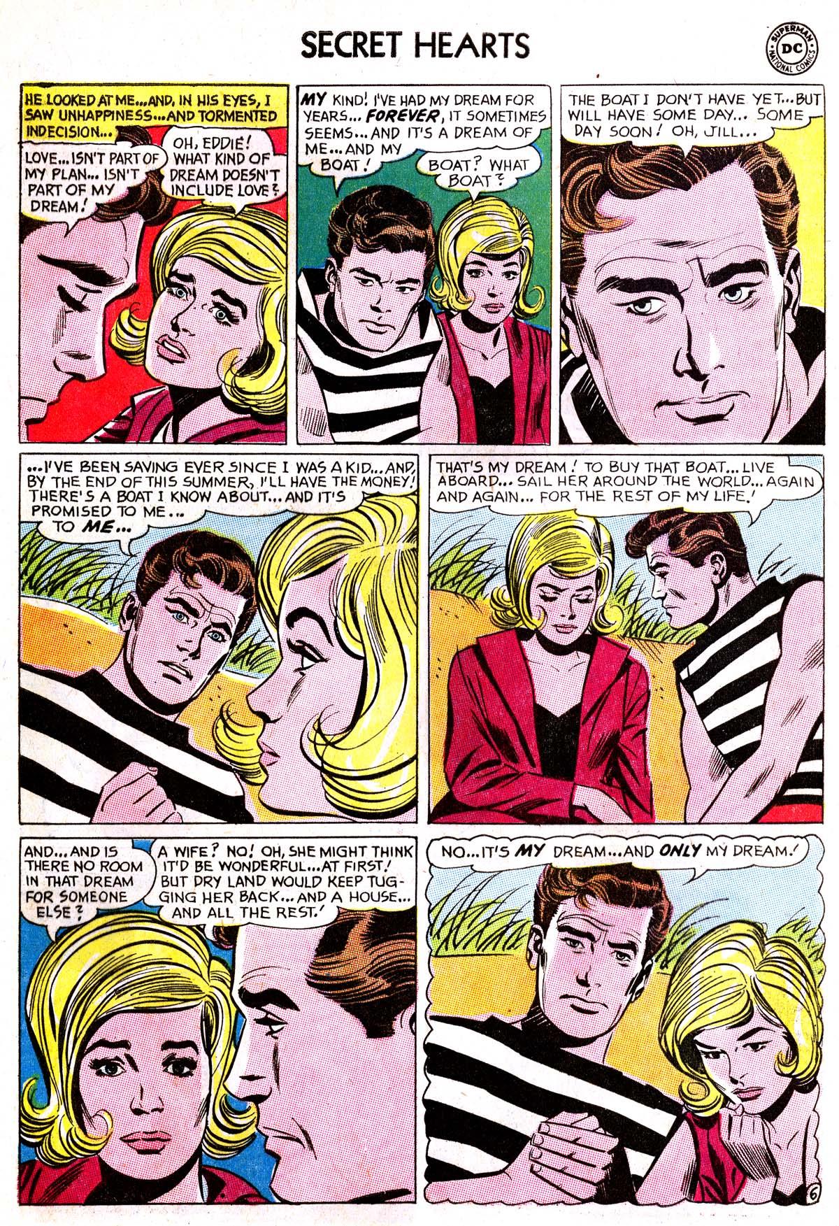 Read online Secret Hearts comic -  Issue #87 - 16