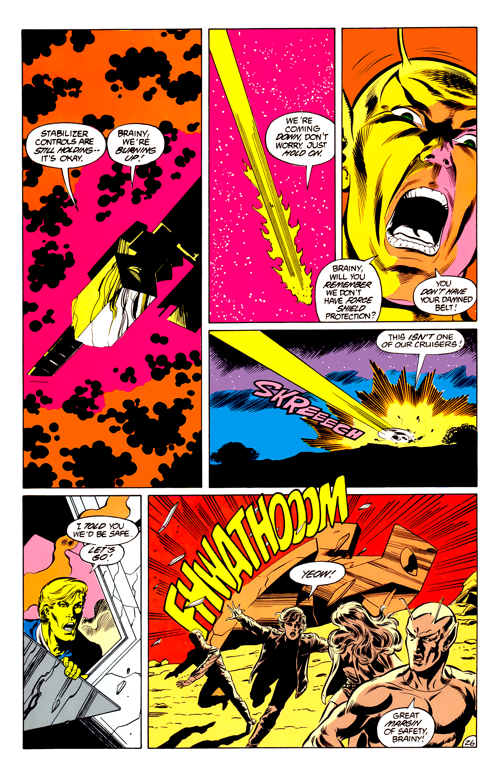 Legion of Super-Heroes (1984) 34 Page 26