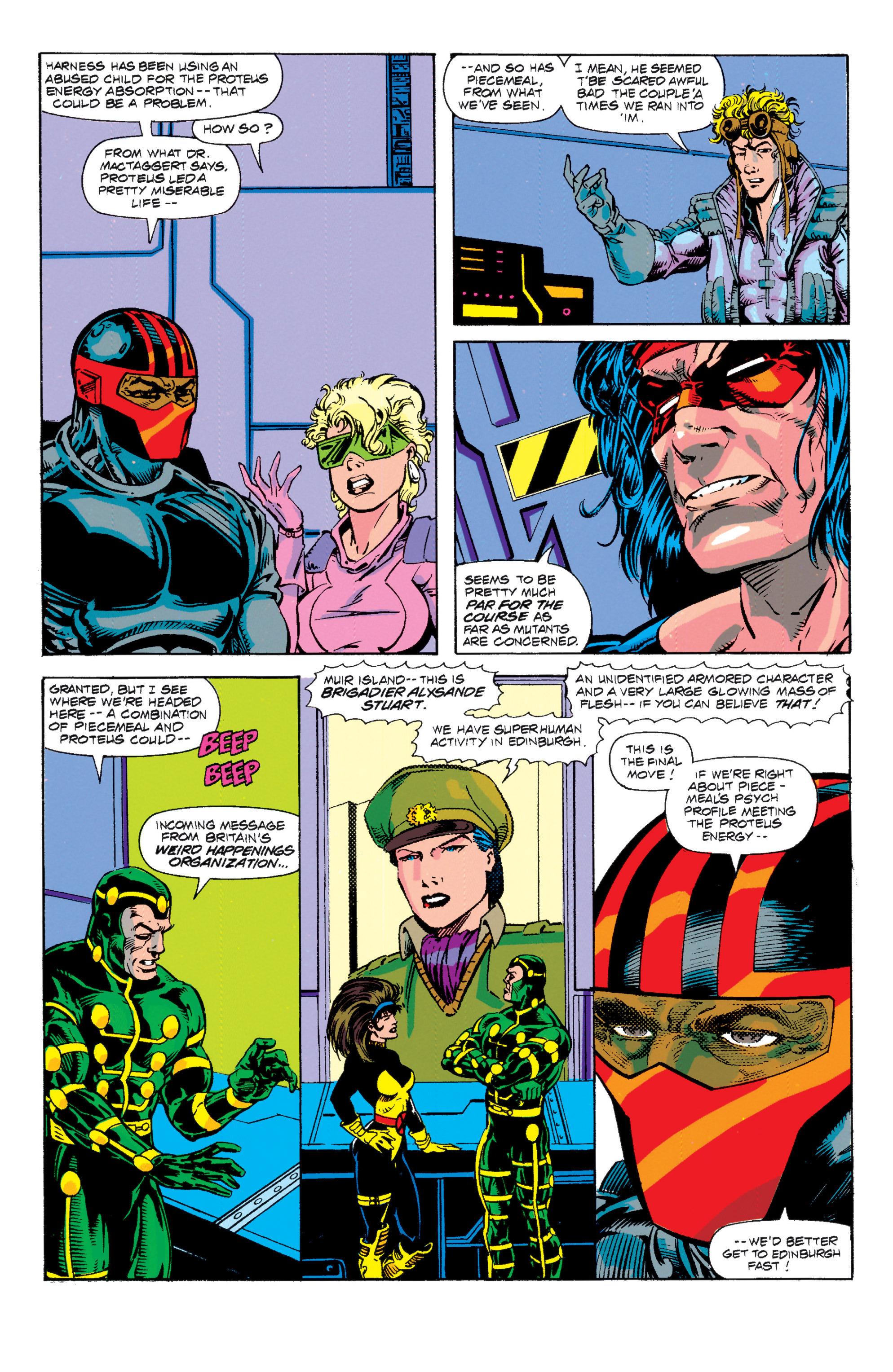 Read online Uncanny X-Men (1963) comic -  Issue # _Annual 15 - 17