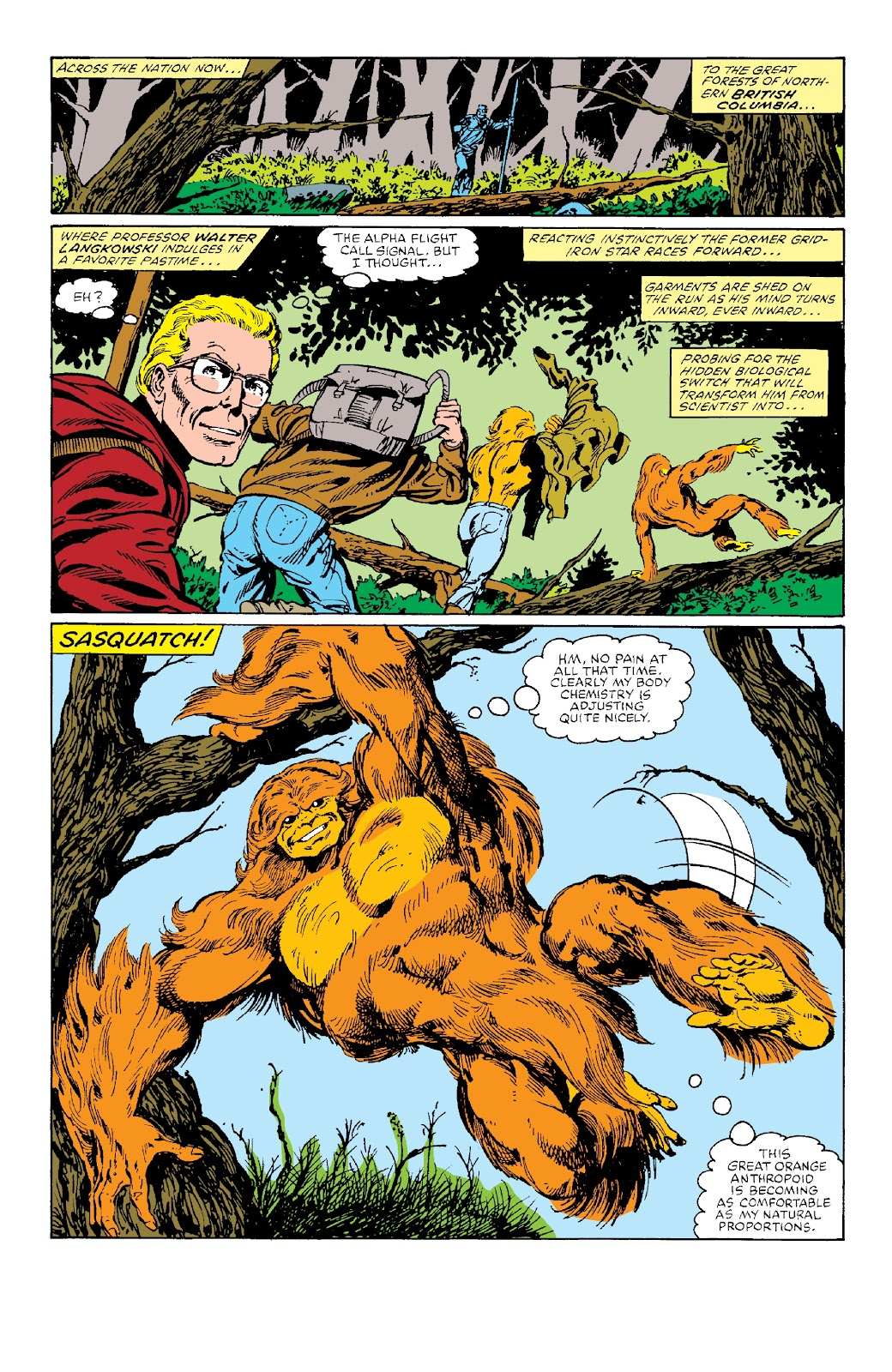 Alpha Flight (1983) issue _Facsimile_Edition_1 - Page 25
