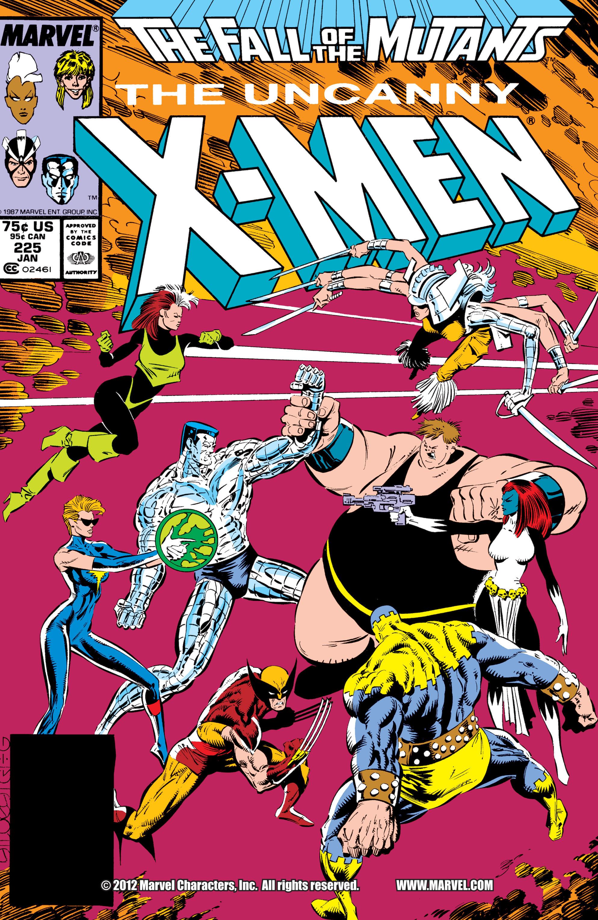 Read online Uncanny X-Men (1963) comic -  Issue #225 - 1