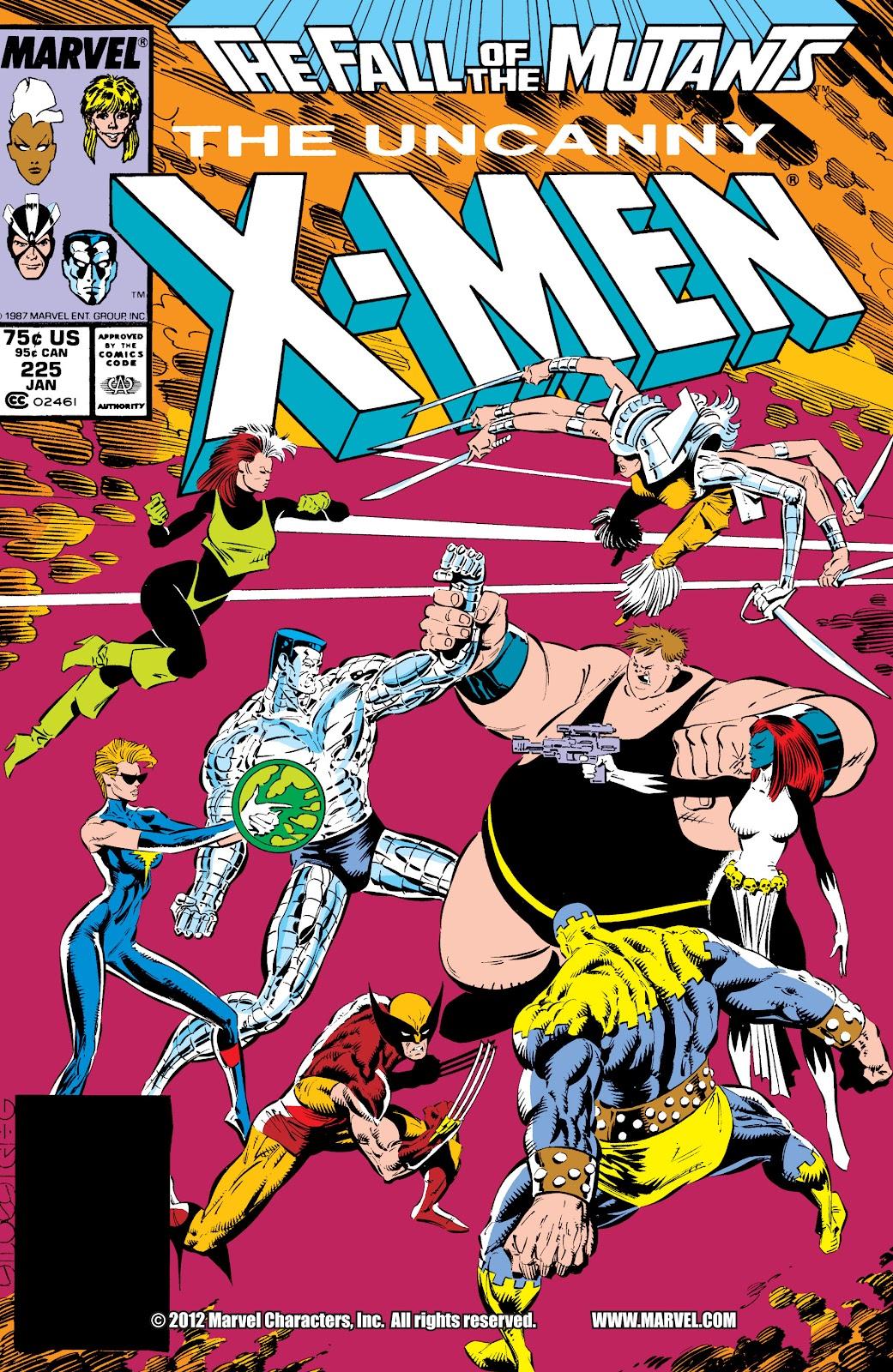 Uncanny X-Men (1963) issue 225 - Page 1