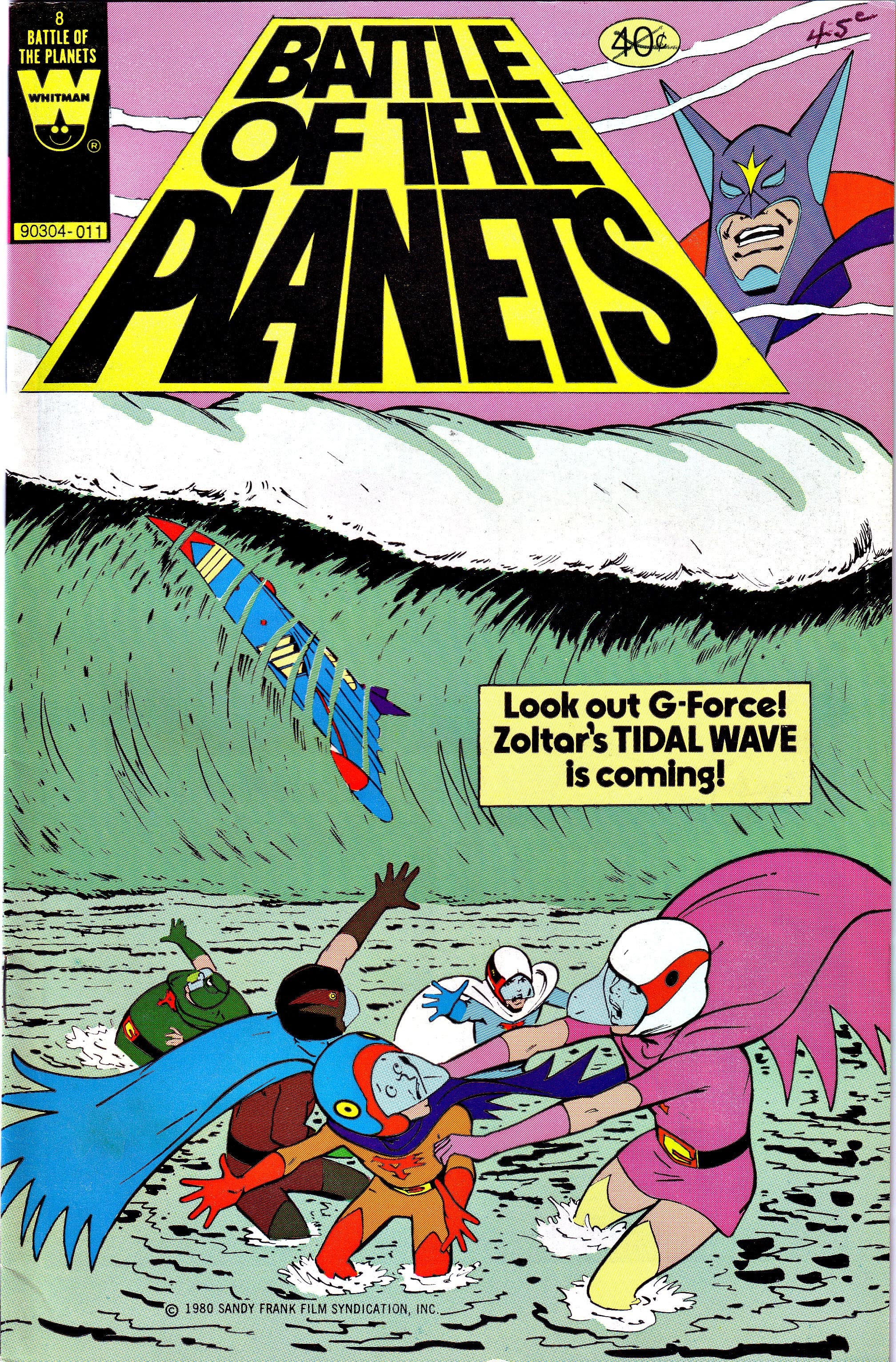 Battle of the Planets (1979) 8 Page 1
