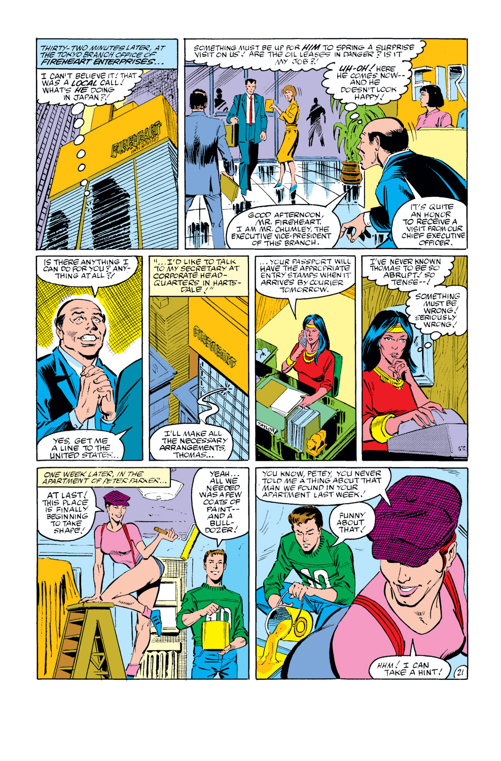 The Amazing Spider-Man (1963) 273 Page 21