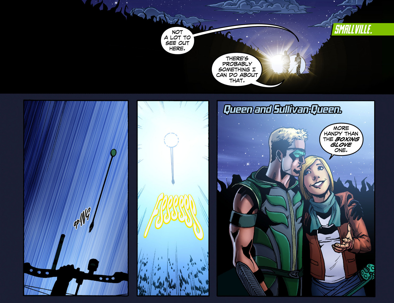 Read online Smallville: Season 11 comic -  Issue #7 - 3