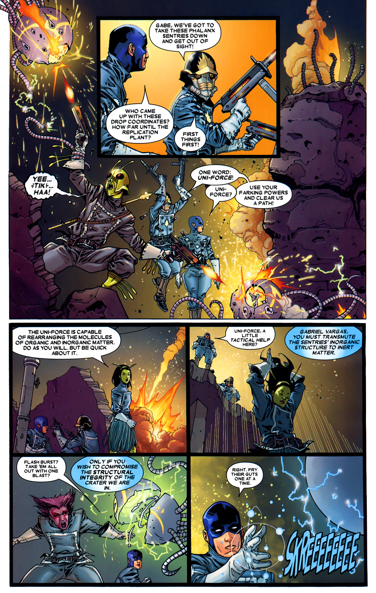 Read online Annihilation: Conquest - Starlord comic -  Issue #2 - 4