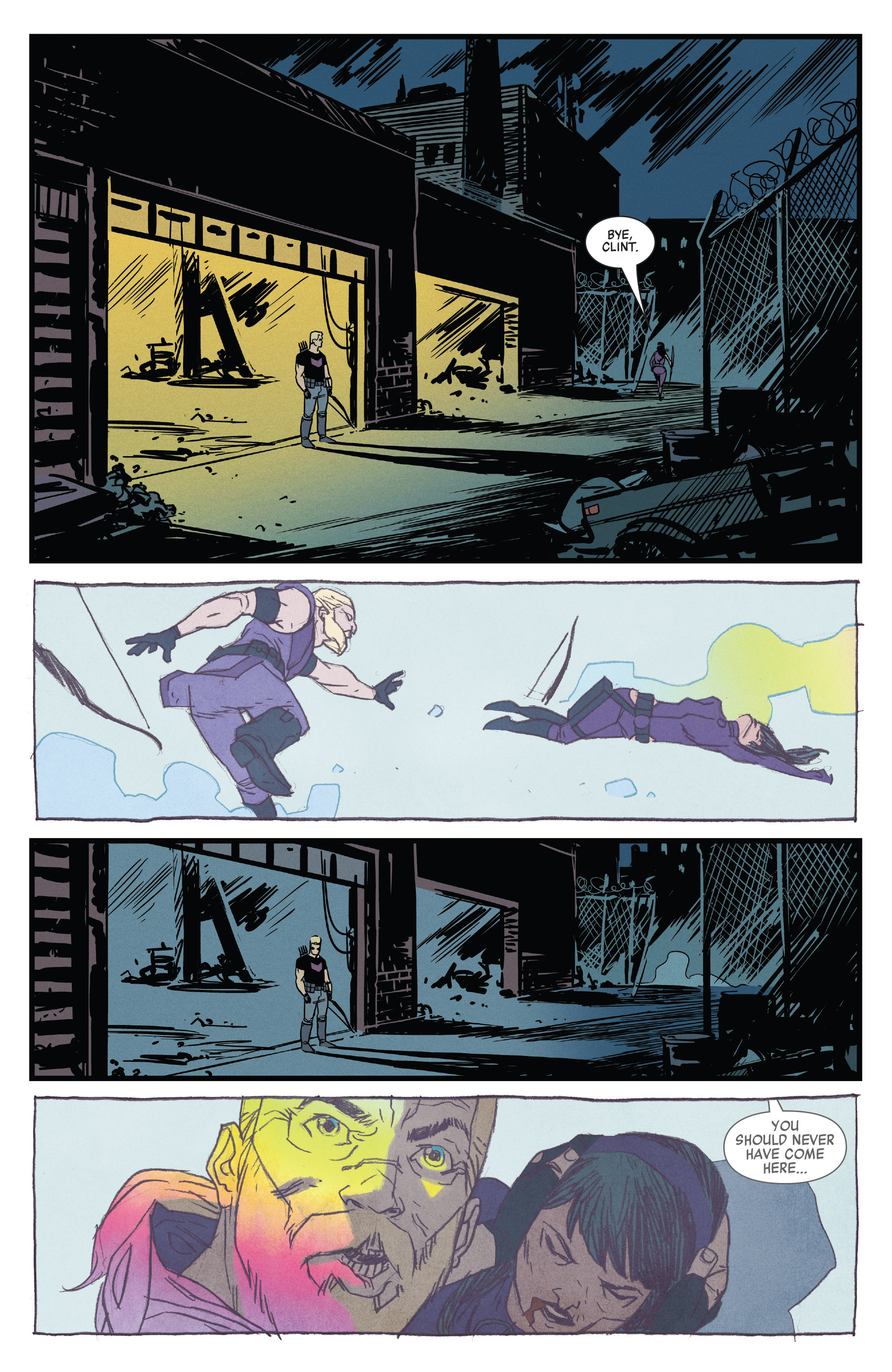Read online All-New Hawkeye (2016) comic -  Issue #1 - 20
