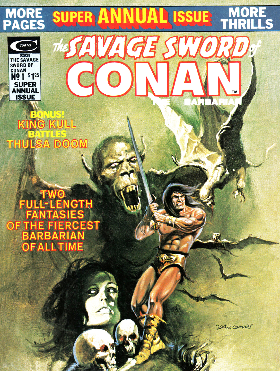 The Savage Sword Of Conan _Annual_1 Page 1