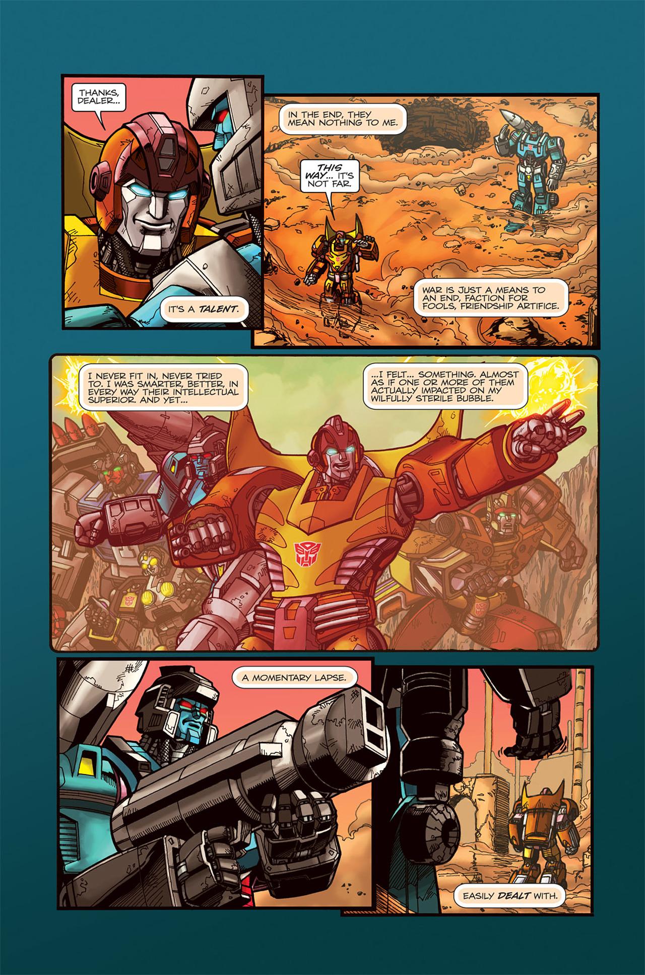 Read online Transformers Spotlight: Doubledealer comic -  Issue # Full - 15