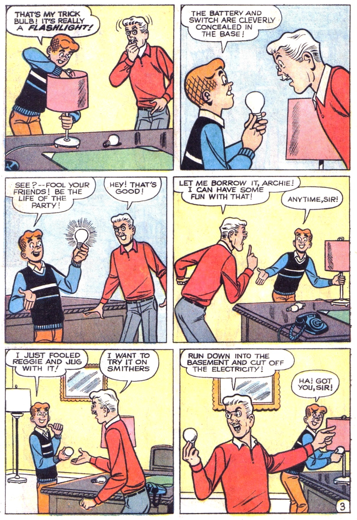 Read online Archie (1960) comic -  Issue #151 - 22