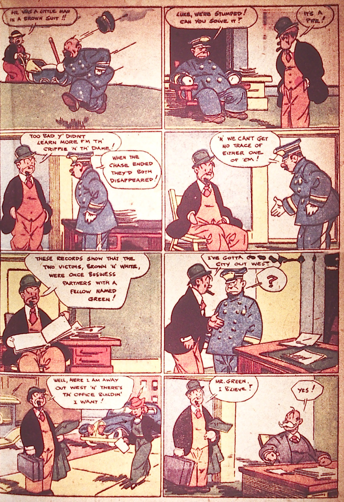 Read online Detective Comics (1937) comic -  Issue #5 - 41