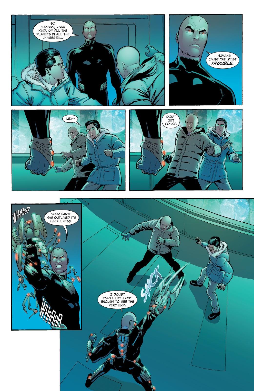 Read online Smallville Season 11 [II] comic -  Issue # TPB 6 - 132