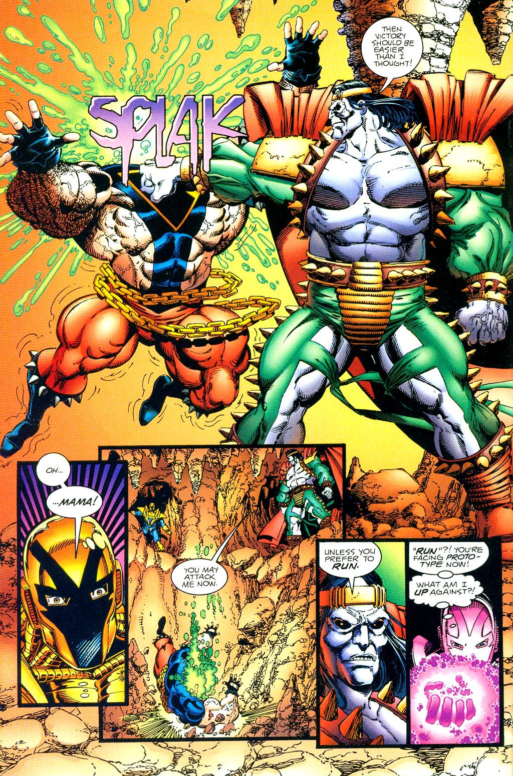 Read online UltraForce (1994) comic -  Issue #1 - 19