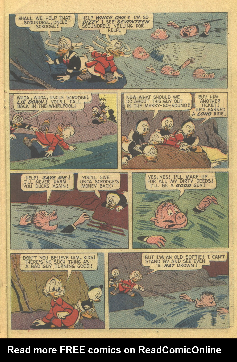 Read online Uncle Scrooge (1953) comic -  Issue #85 - 23