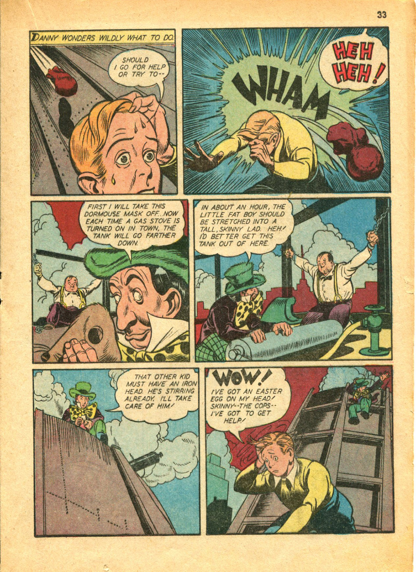 Read online Shadow Comics comic -  Issue #30 - 33