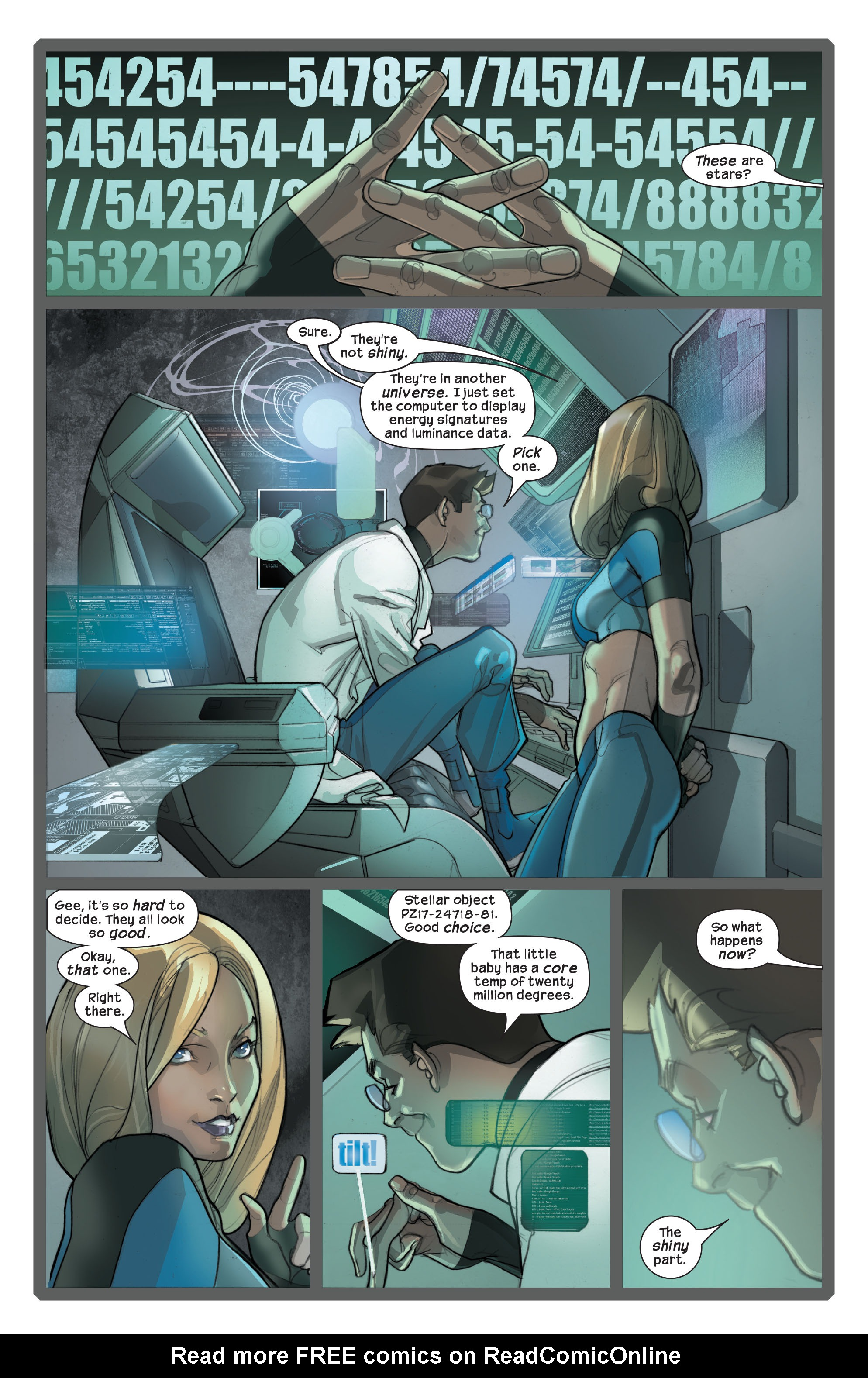Read online Ultimate Fantastic Four (2004) comic -  Issue #42 - 11