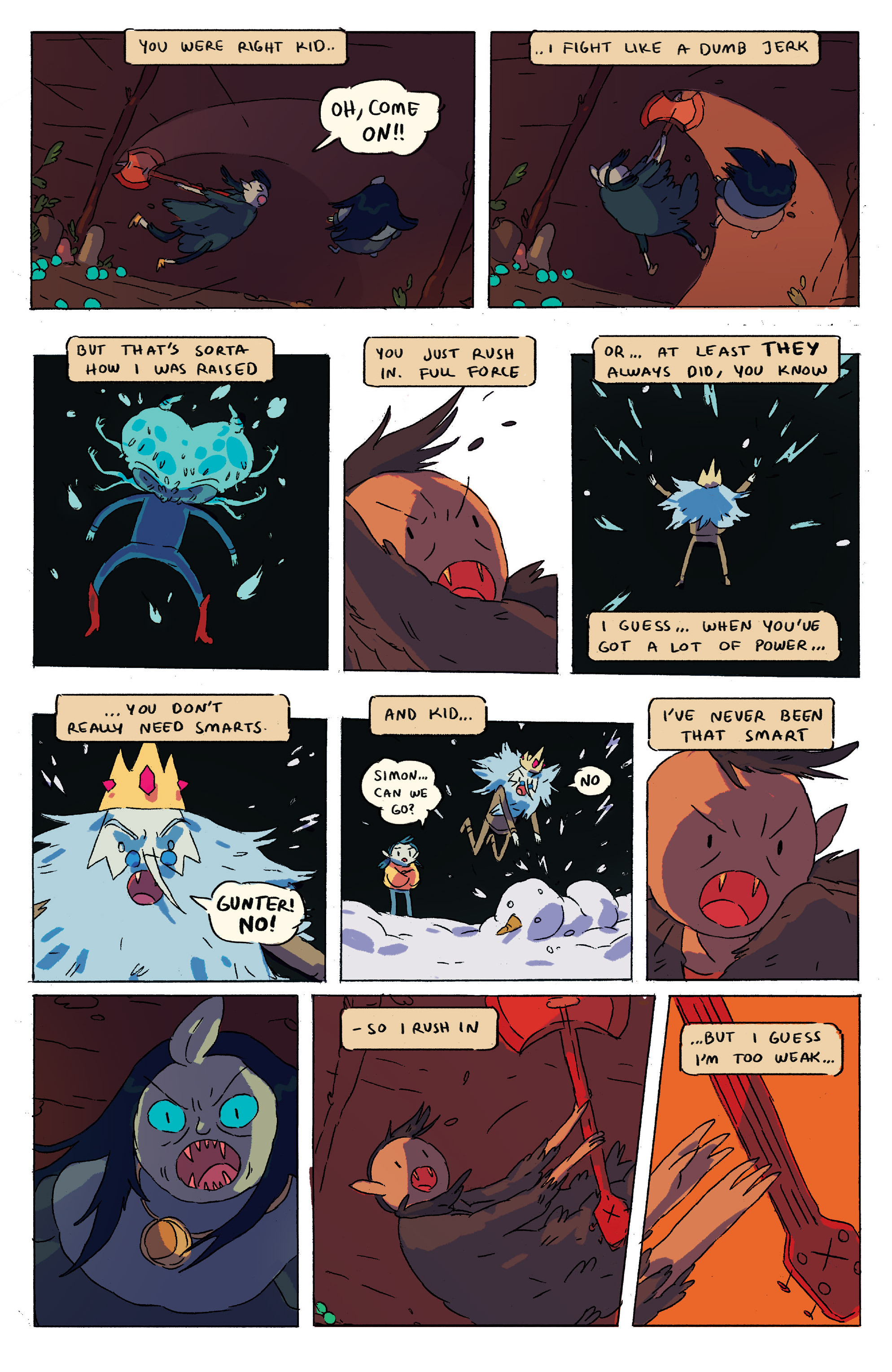 Read online Adventure Time comic -  Issue # _2015 Spoooktacular - 29