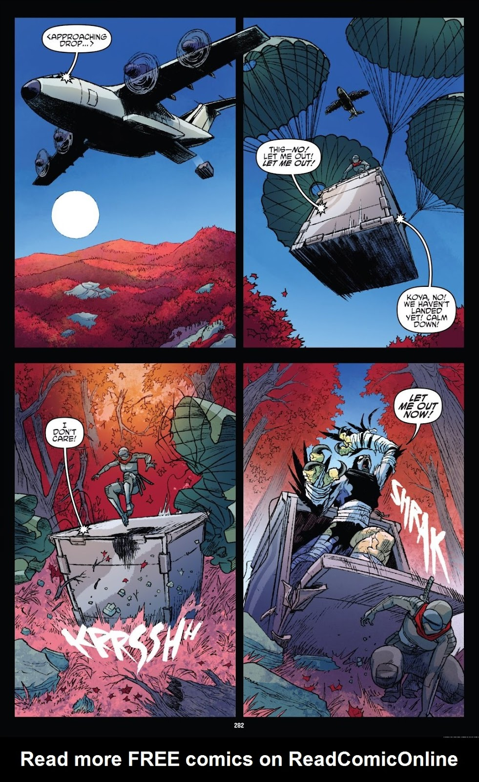 Read online Teenage Mutant Ninja Turtles: The IDW Collection comic -  Issue # TPB 9 (Part 3) - 79