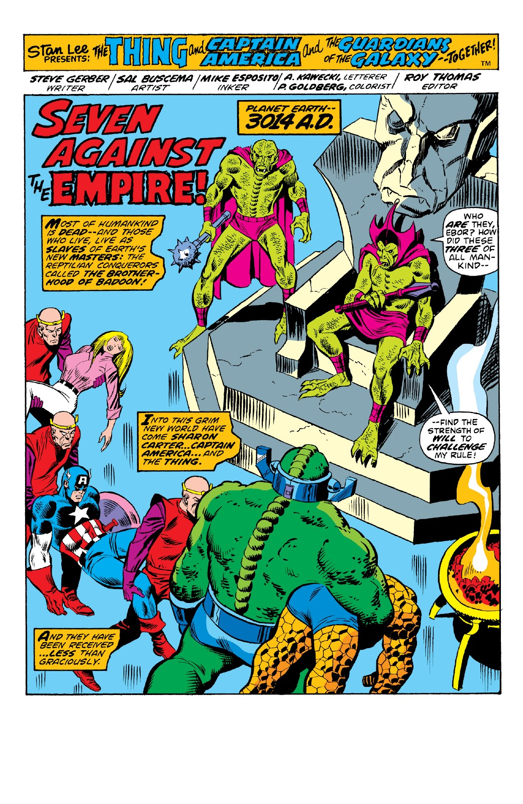 Read online Marvel Two-In-One Epic Collection: Cry Monster comic -  Issue # TPB (Part 2) - 24