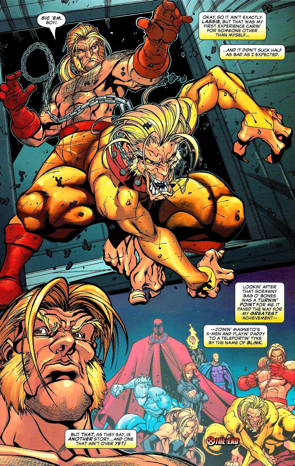 Read online Age of Apocalypse (2005) comic -  Issue #0 - 16