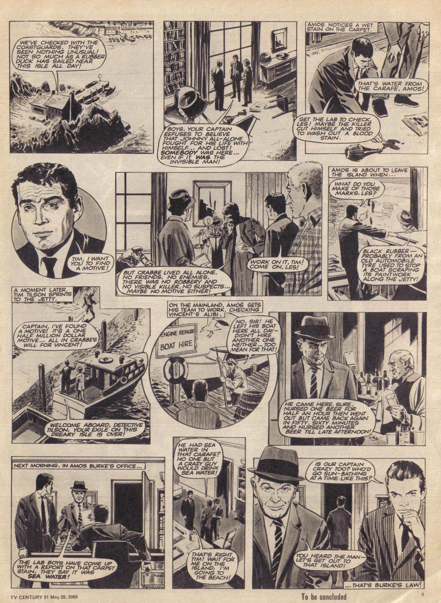 Read online TV Century 21 (TV 21) comic -  Issue #18 - 4