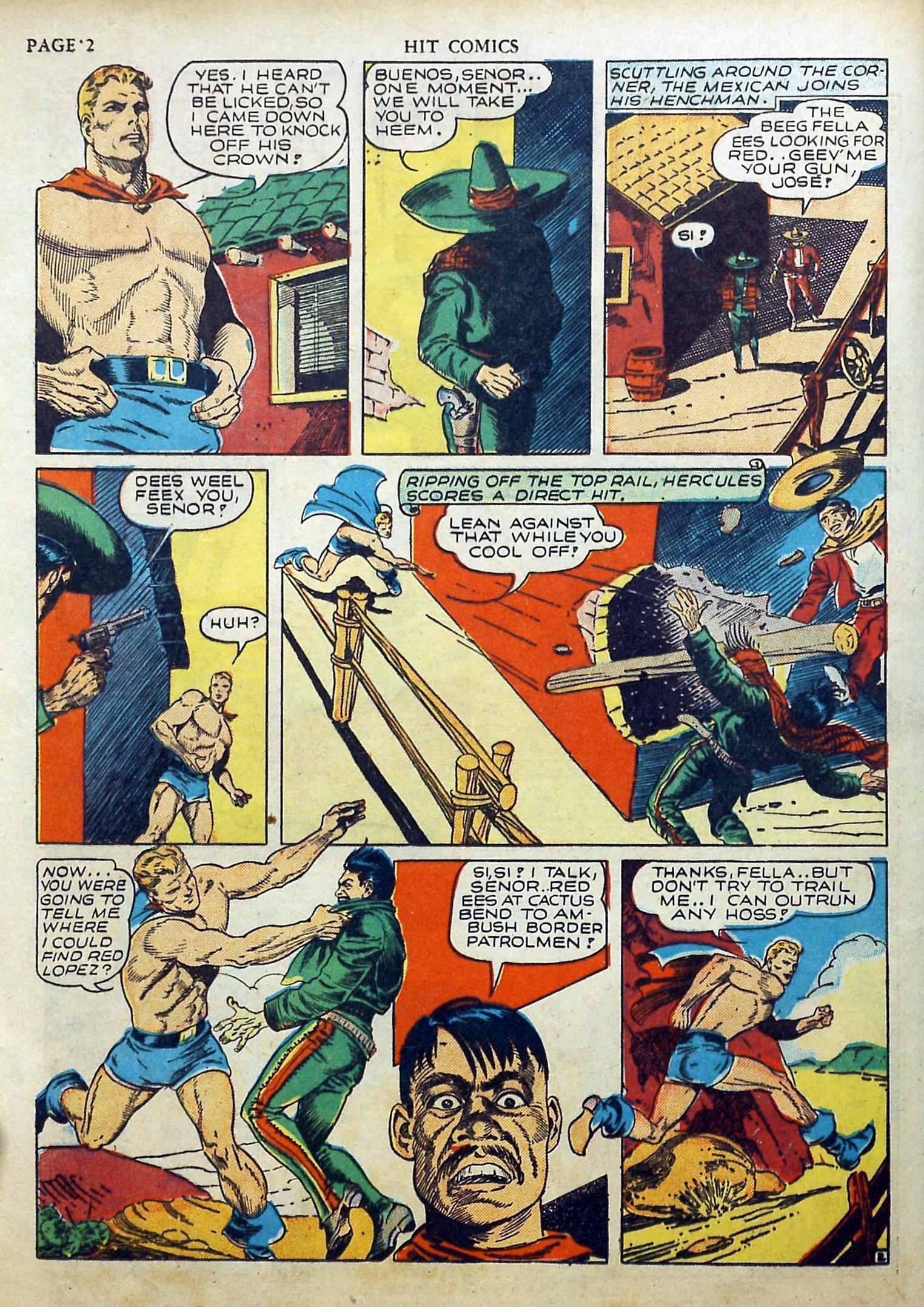 Read online Hit Comics comic -  Issue #17 - 4