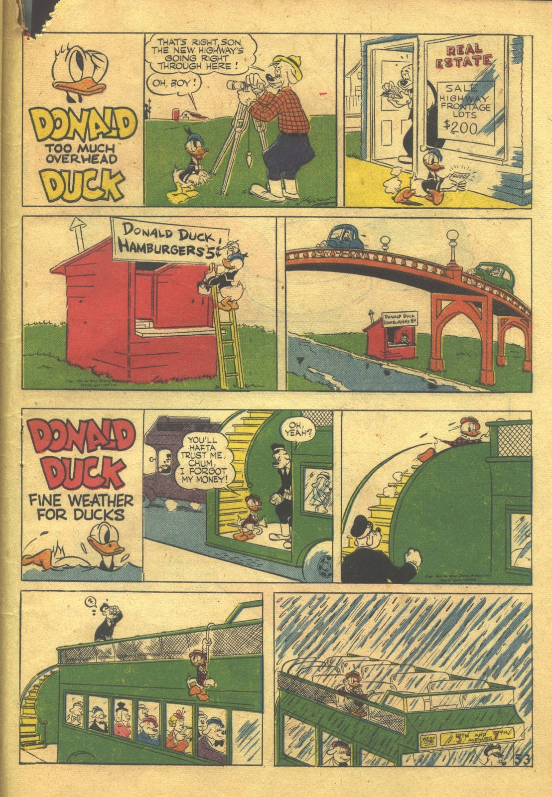 Walt Disney's Comics and Stories issue 39 - Page 55