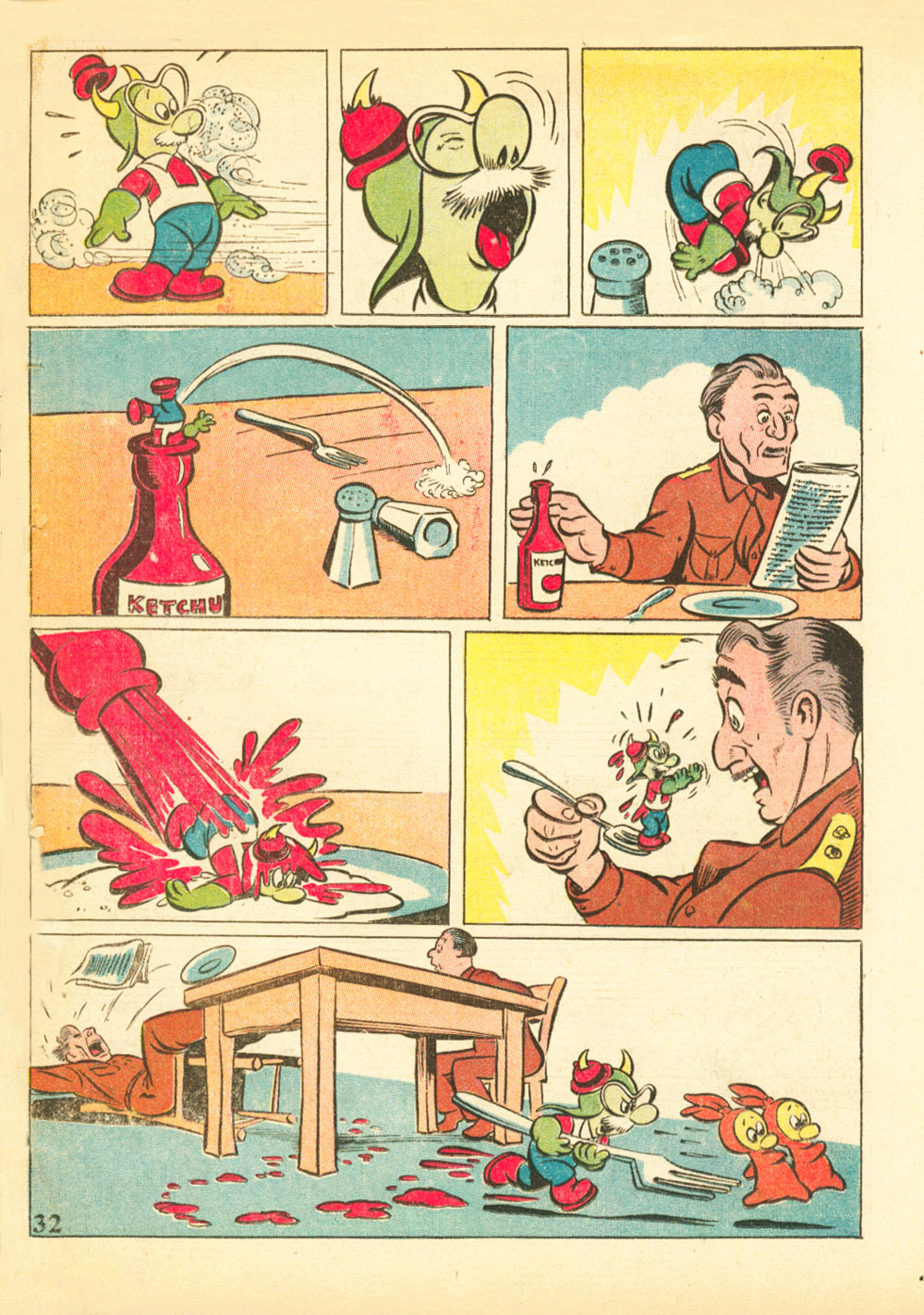 Walt Disney's Comics and Stories issue 38 - Page 34
