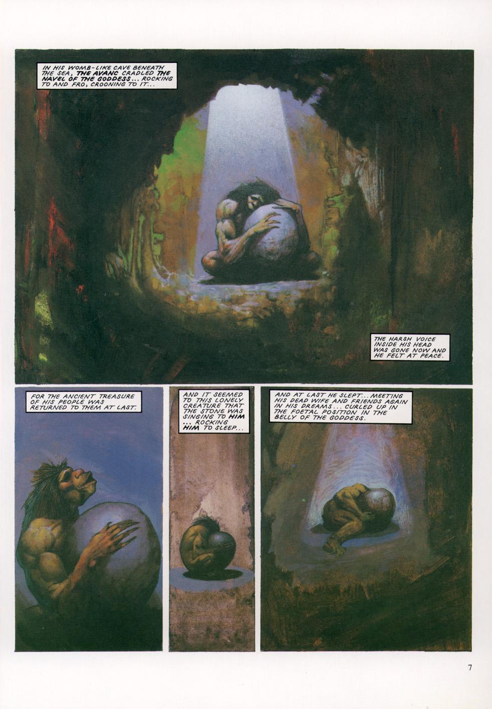 Read online Slaine: The Horned God (1993) comic -  Issue #4 - 8
