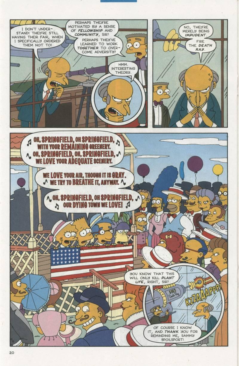 Read online Simpsons Comics comic -  Issue #67 - 21