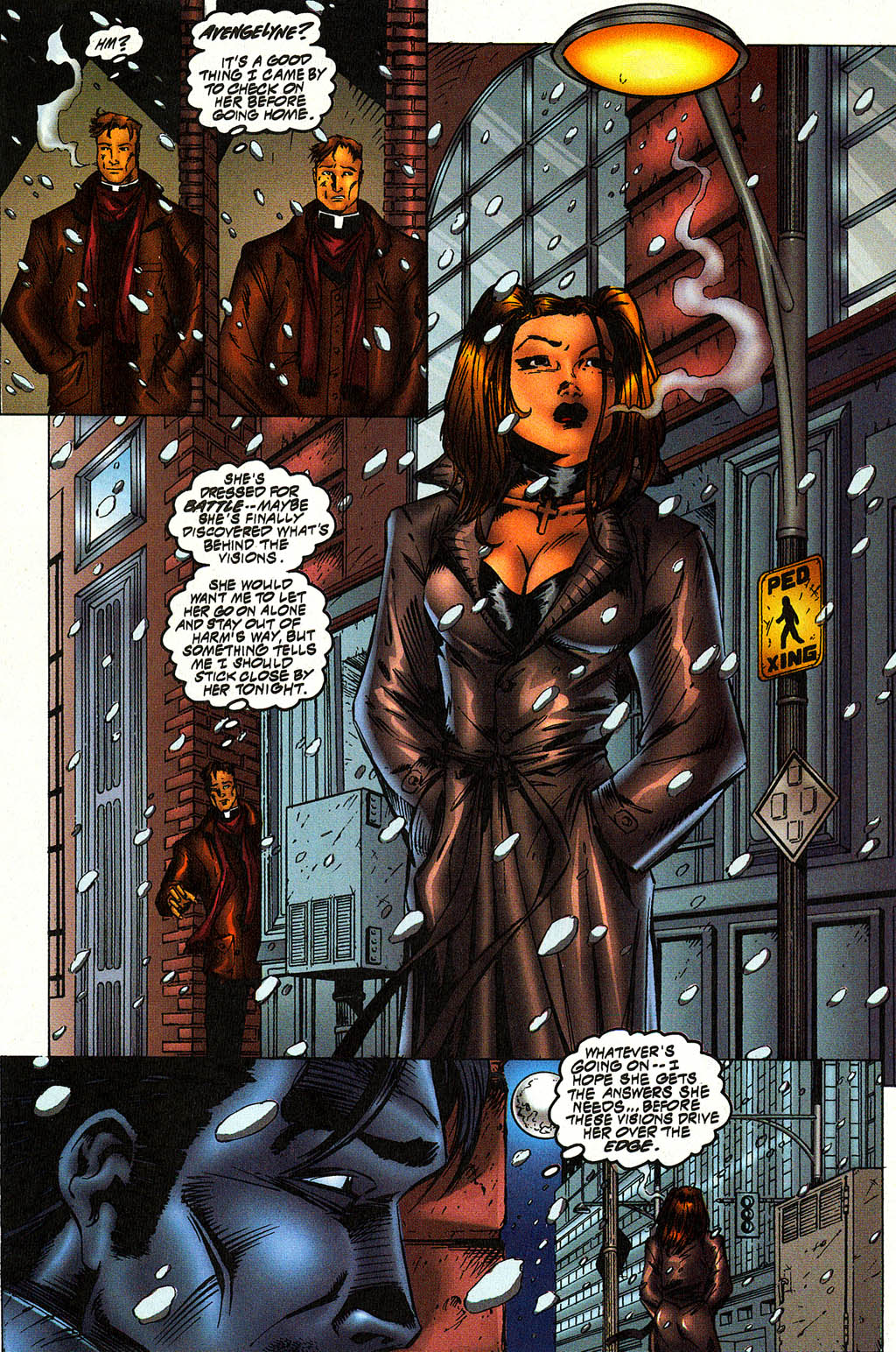 Read online Avengelyne (1996) comic -  Issue #10 - 11