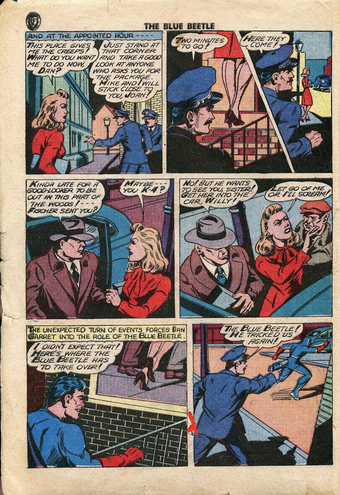 The Blue Beetle issue 34 - Page 3