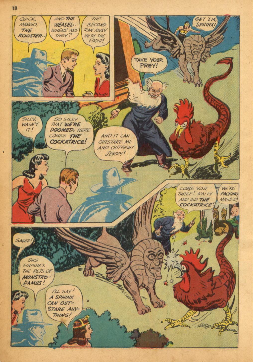 Read online Shadow Comics comic -  Issue #32 - 19