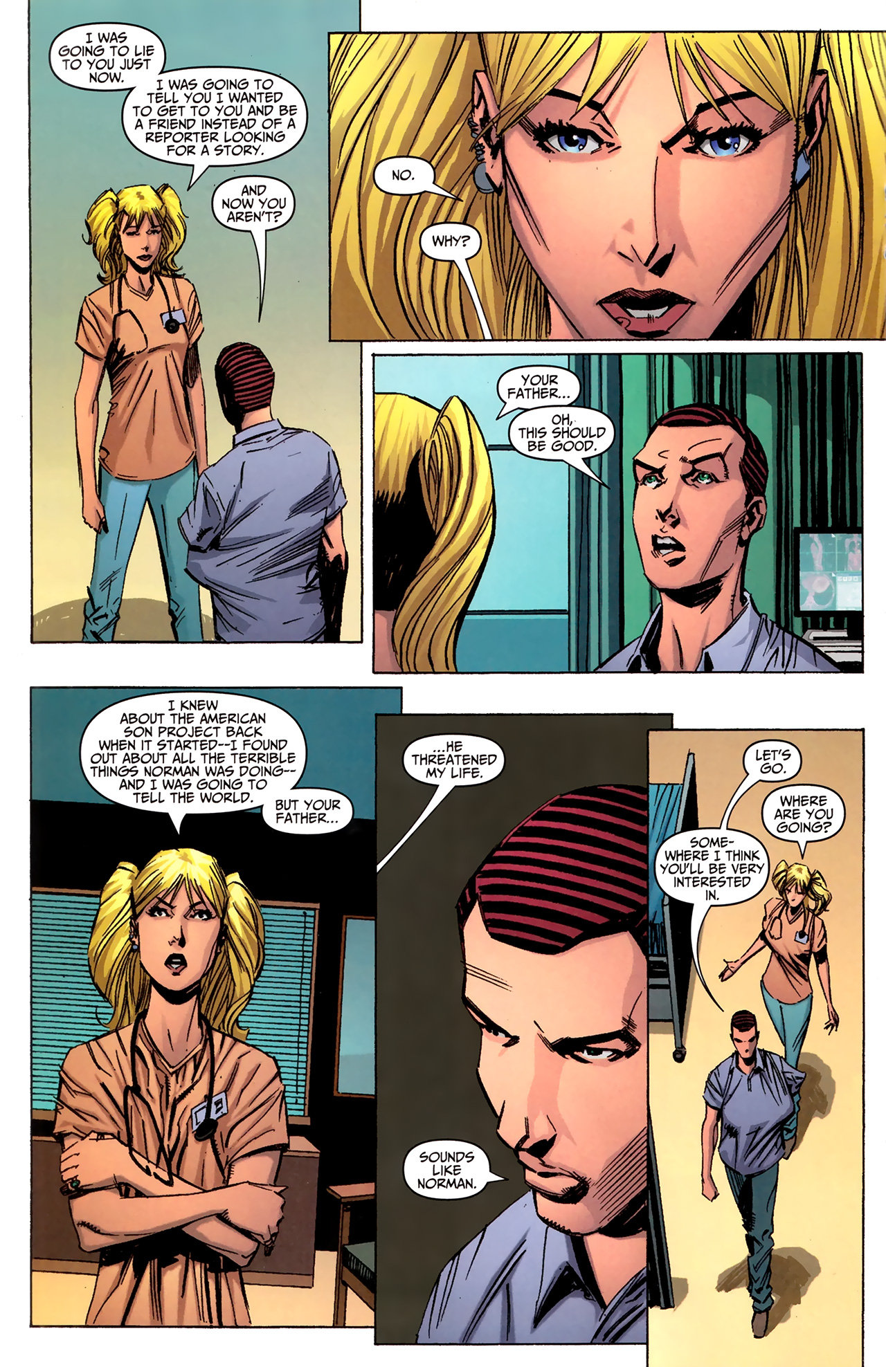 Read online Amazing Spider-Man Presents: American Son comic -  Issue #2 - 13