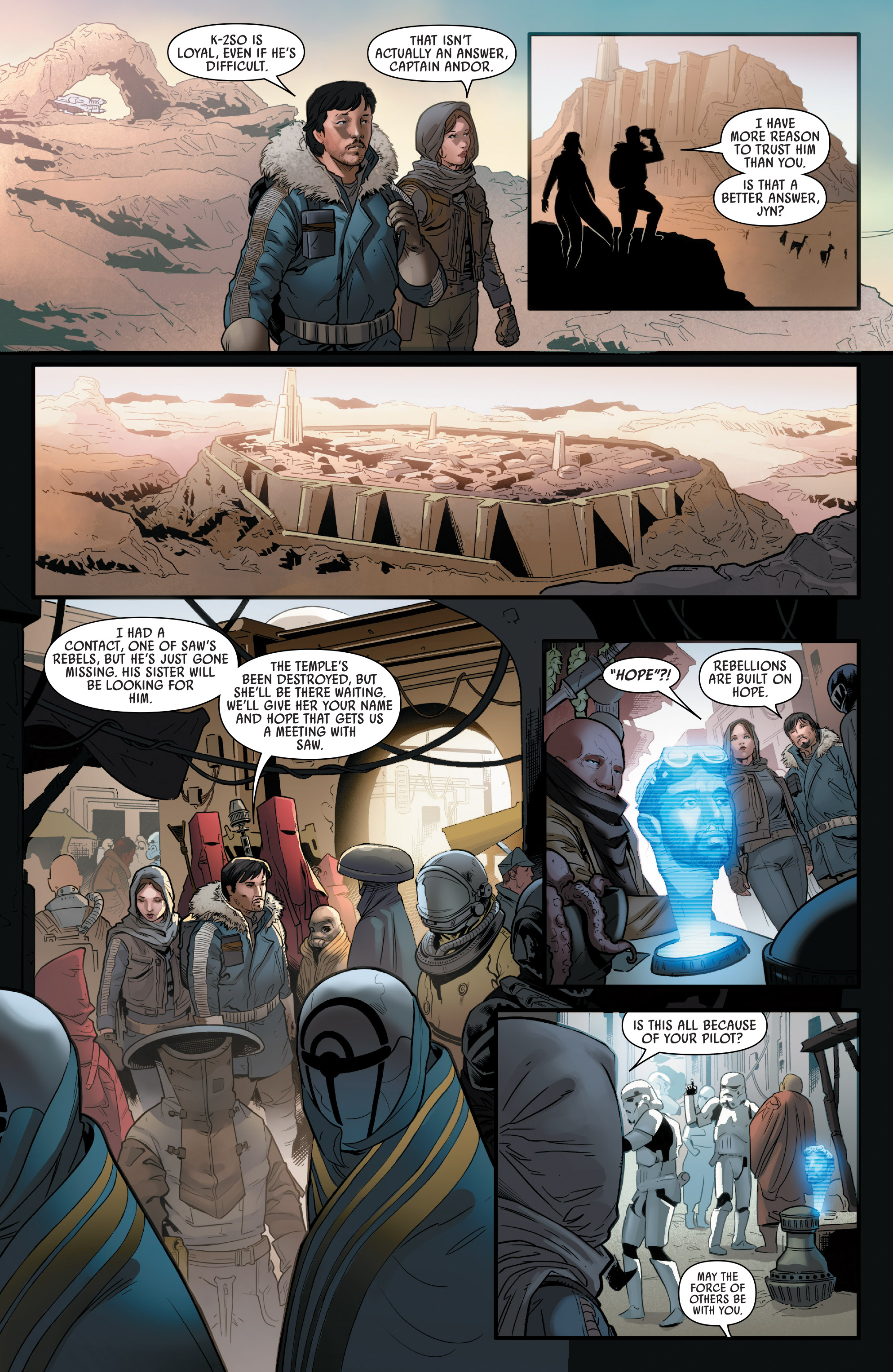 Read online Star Wars: Rogue One Adaptation comic -  Issue #2 - 6